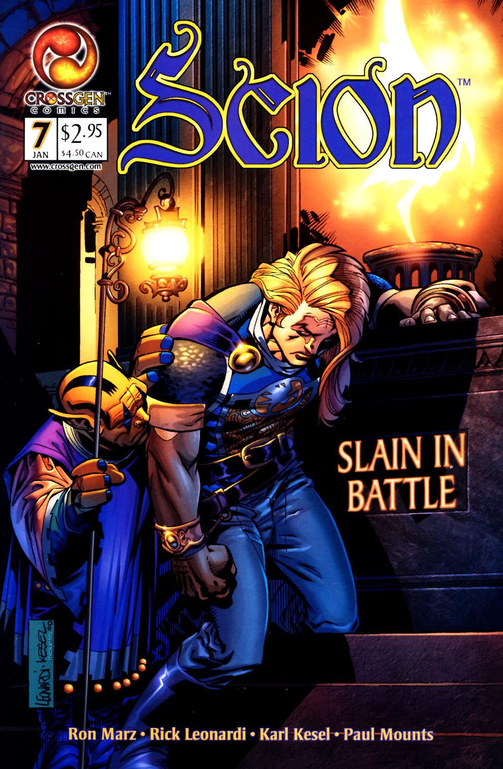 Read online Scion comic -  Issue #7 - 1