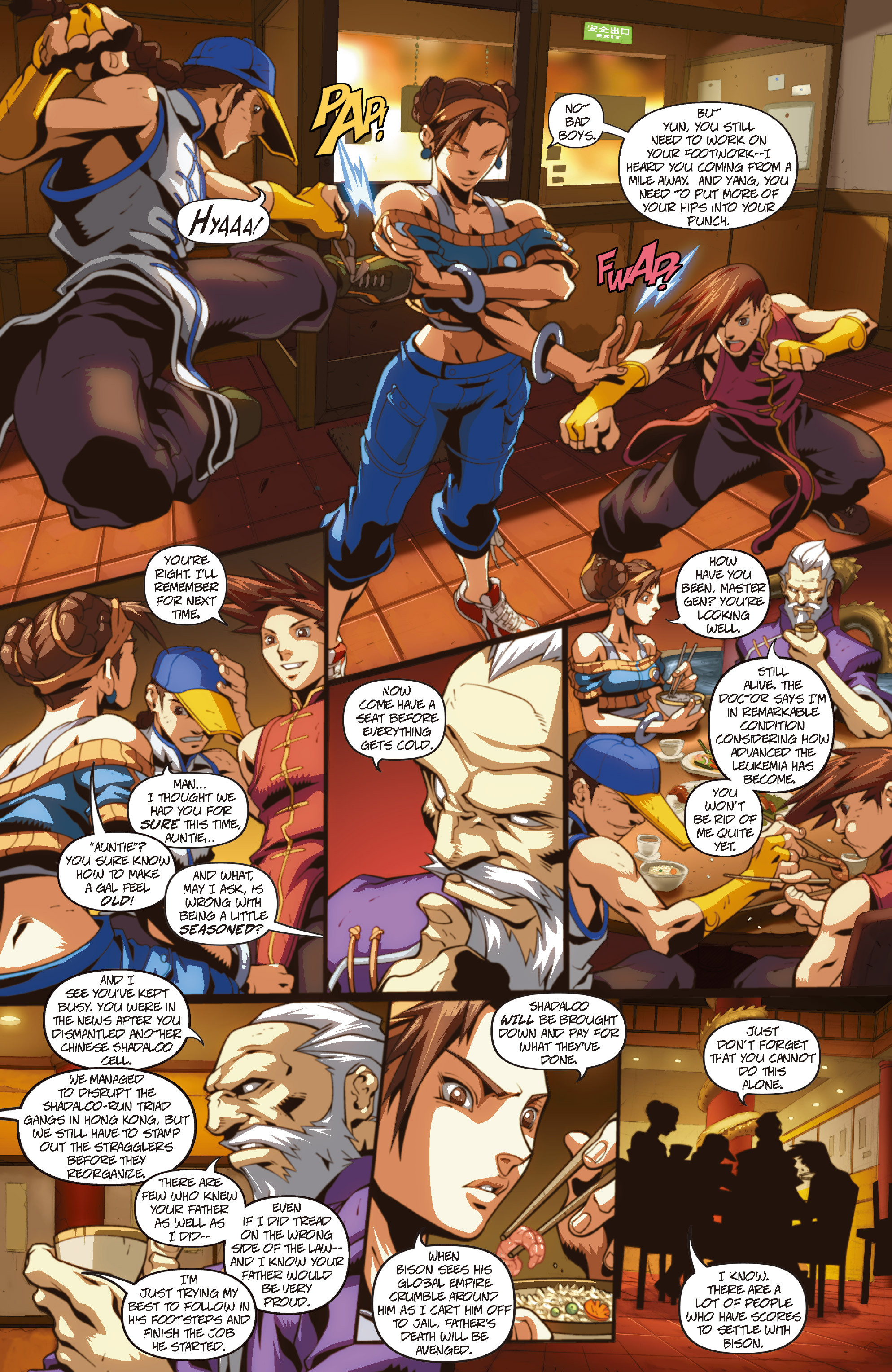 Street Fighter II chap 1 pic 28