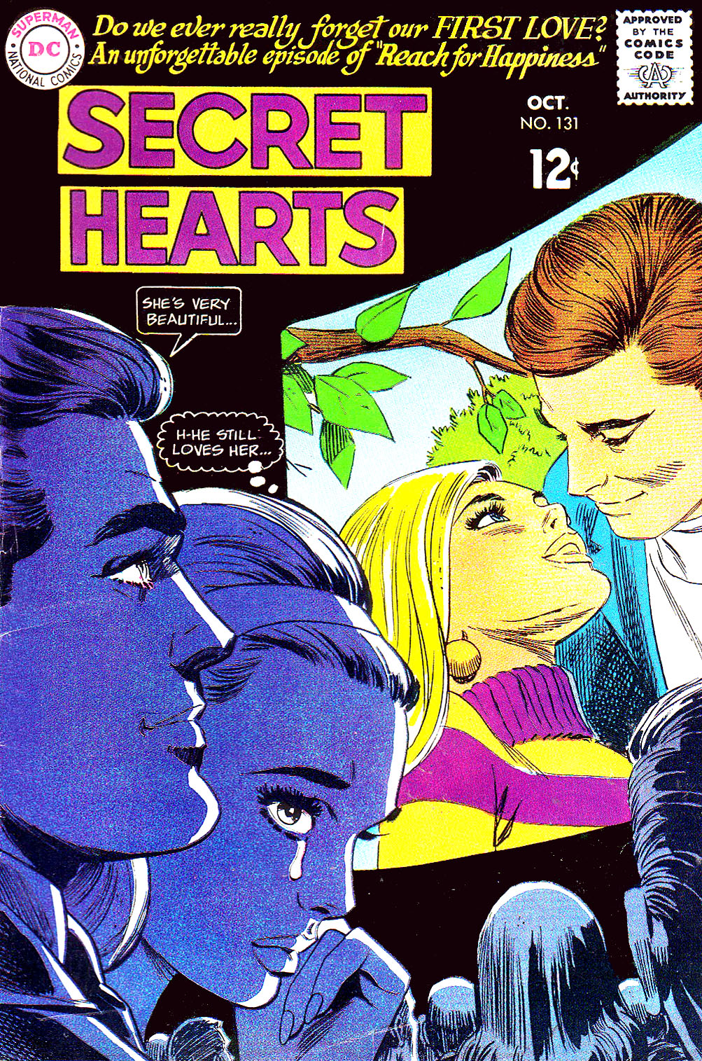 Read online Secret Hearts comic -  Issue #131 - 1