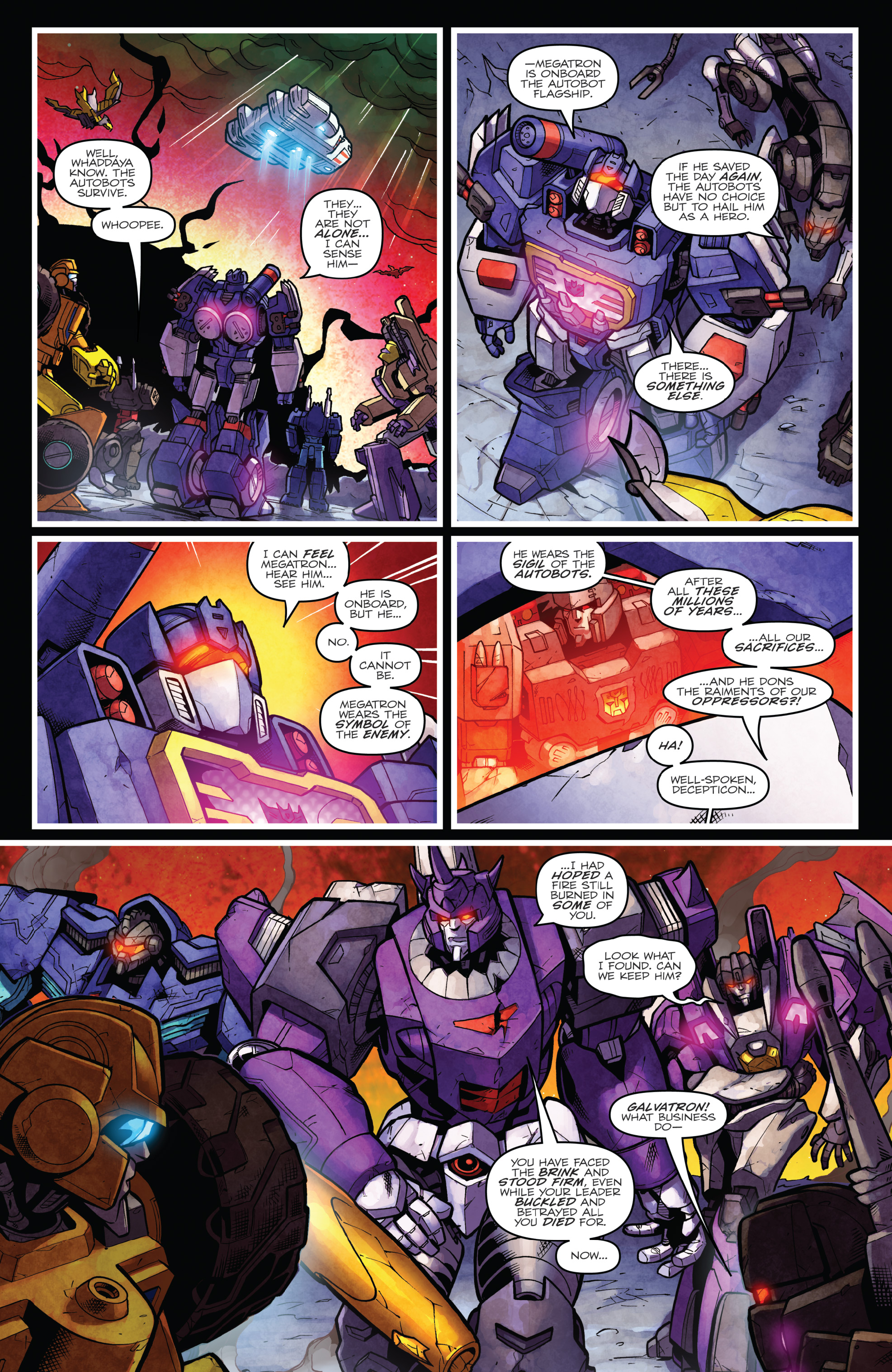Read online The Transformers: Dark Cybertron Finale comic -  Issue # Full - 144