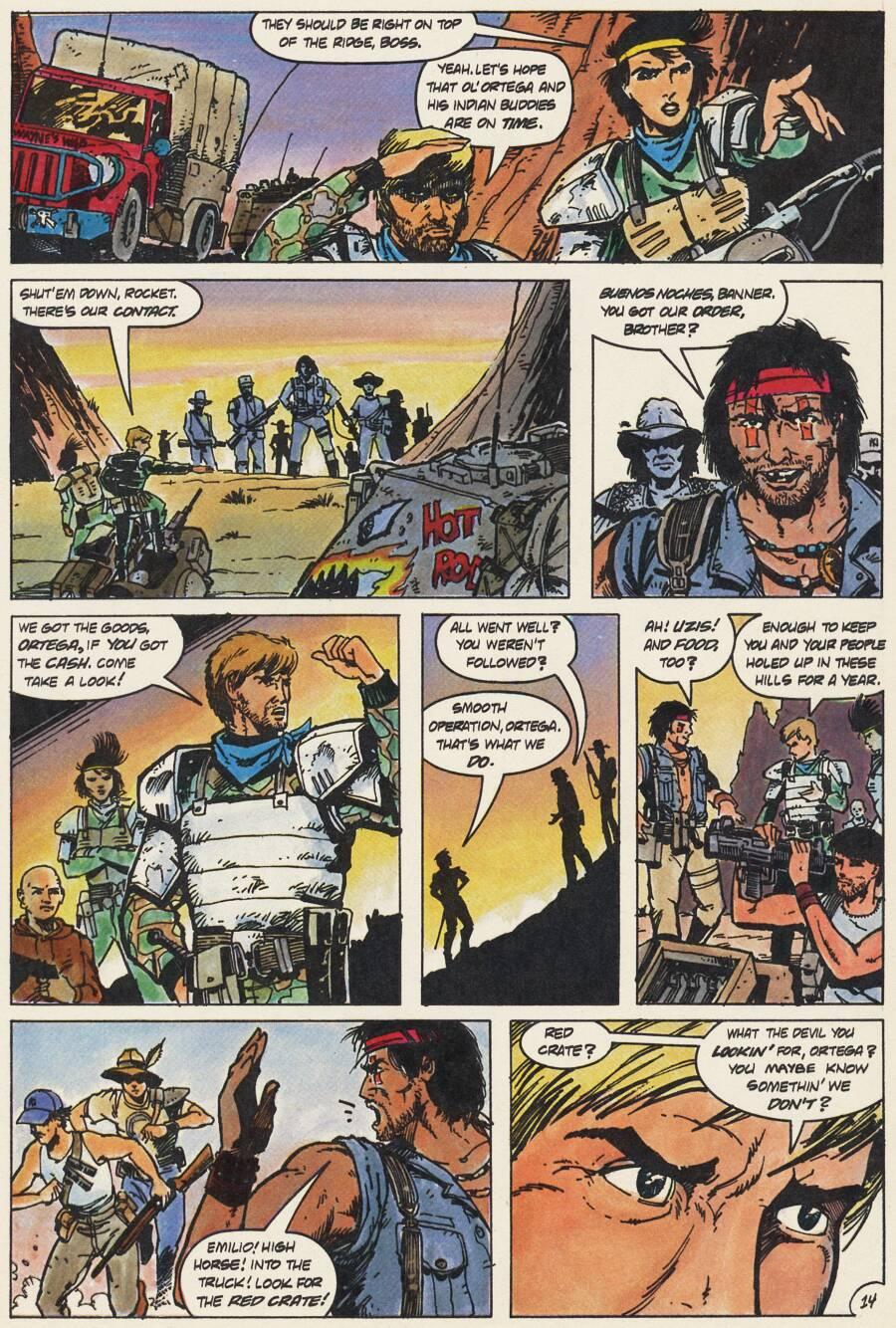 Read online Scout comic -  Issue #15 - 16