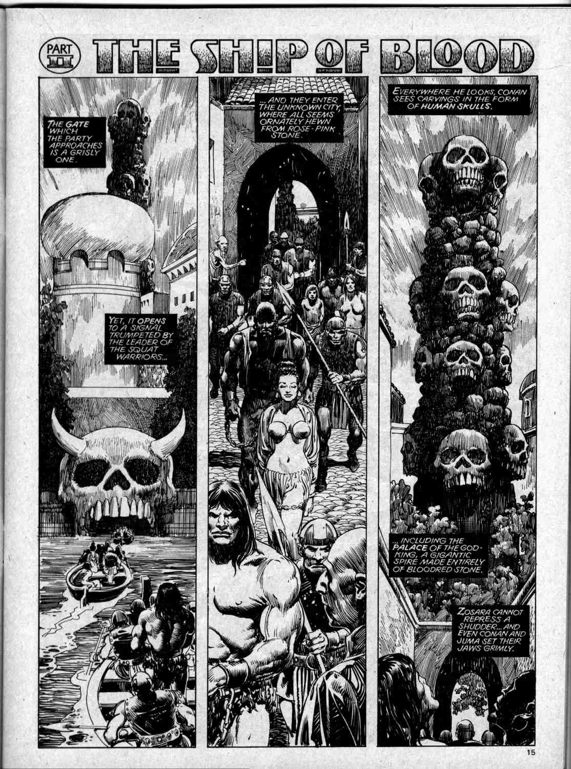 The Savage Sword Of Conan Issue #59 #60 - English 15