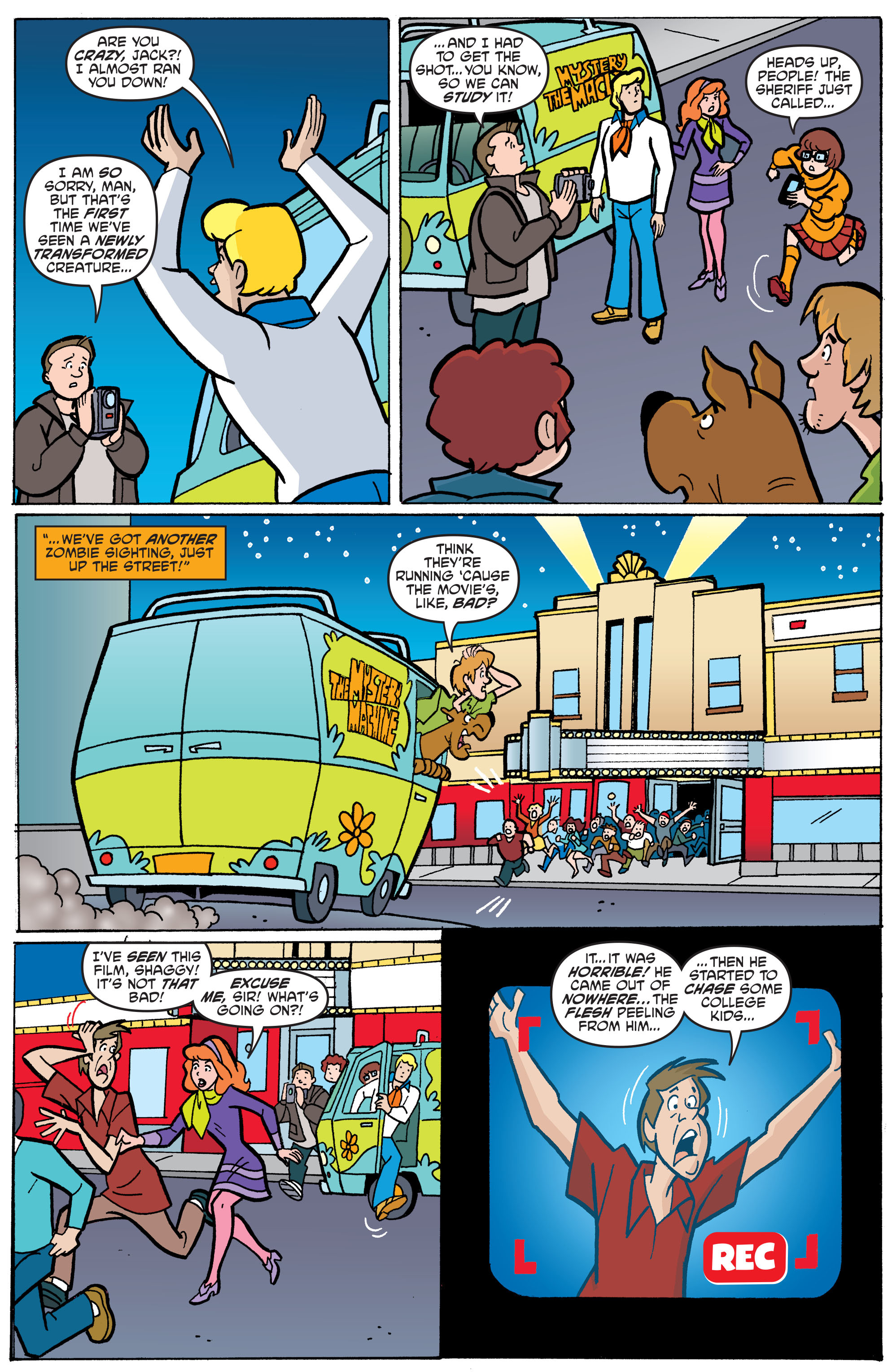 Read online Scooby-Doo: Where Are You? comic -  Issue #65 - 19
