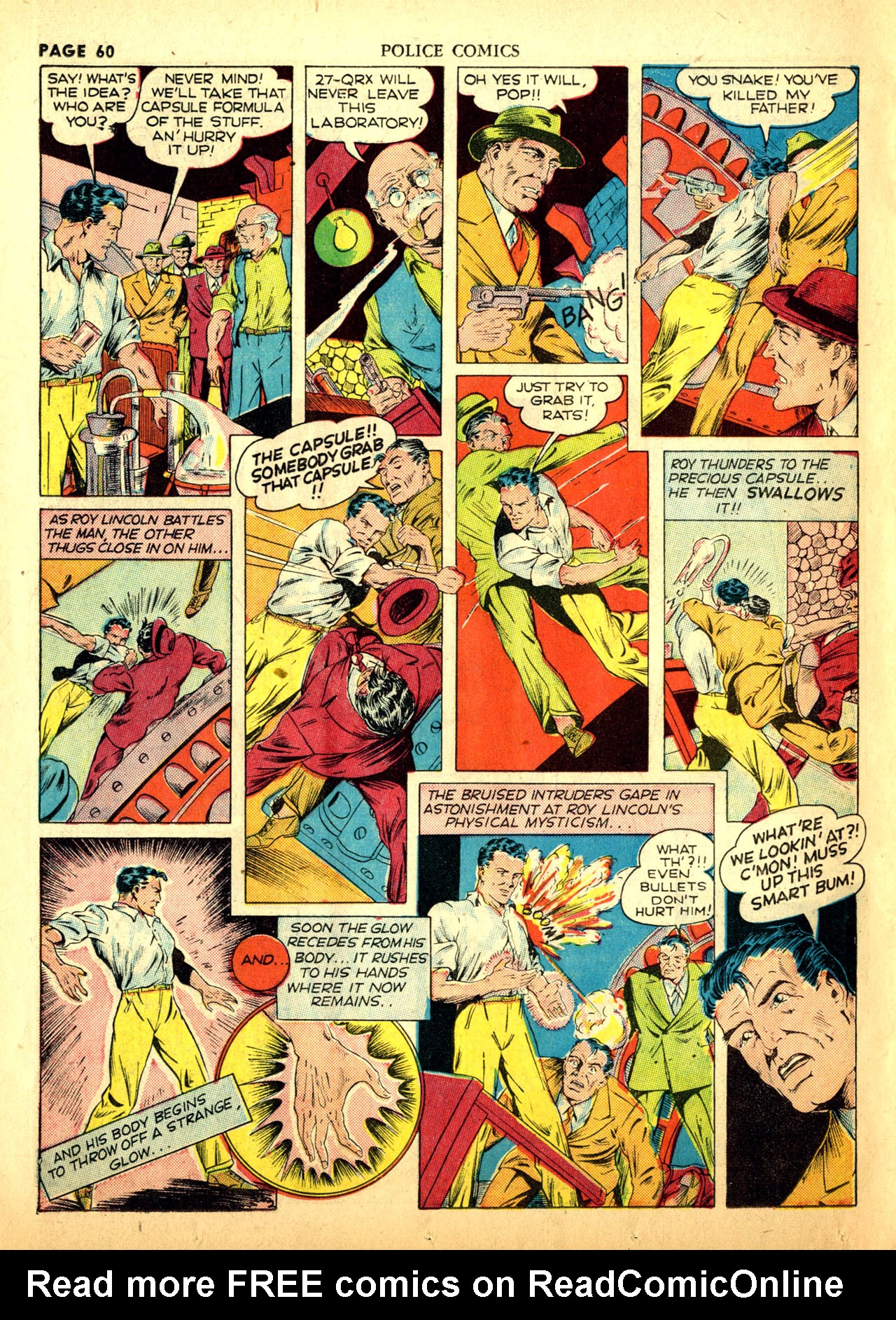 Police Comics #1 #127 - English 63