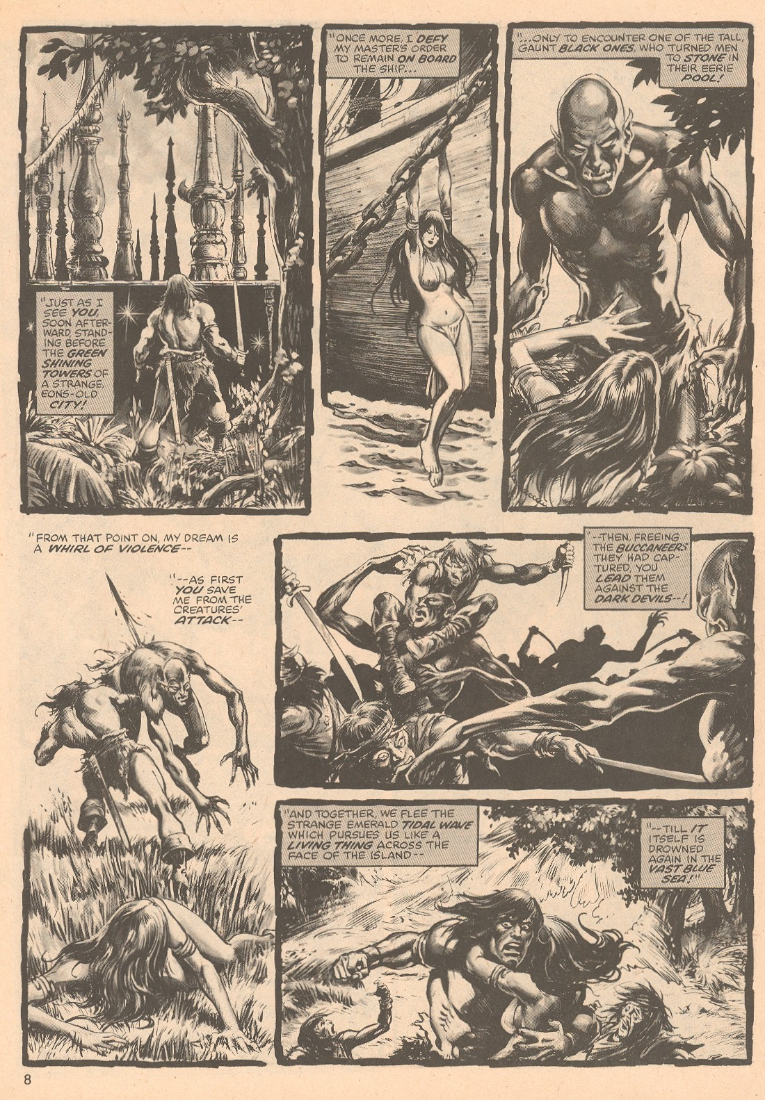 The Savage Sword Of Conan Issue #67 #68 - English 8