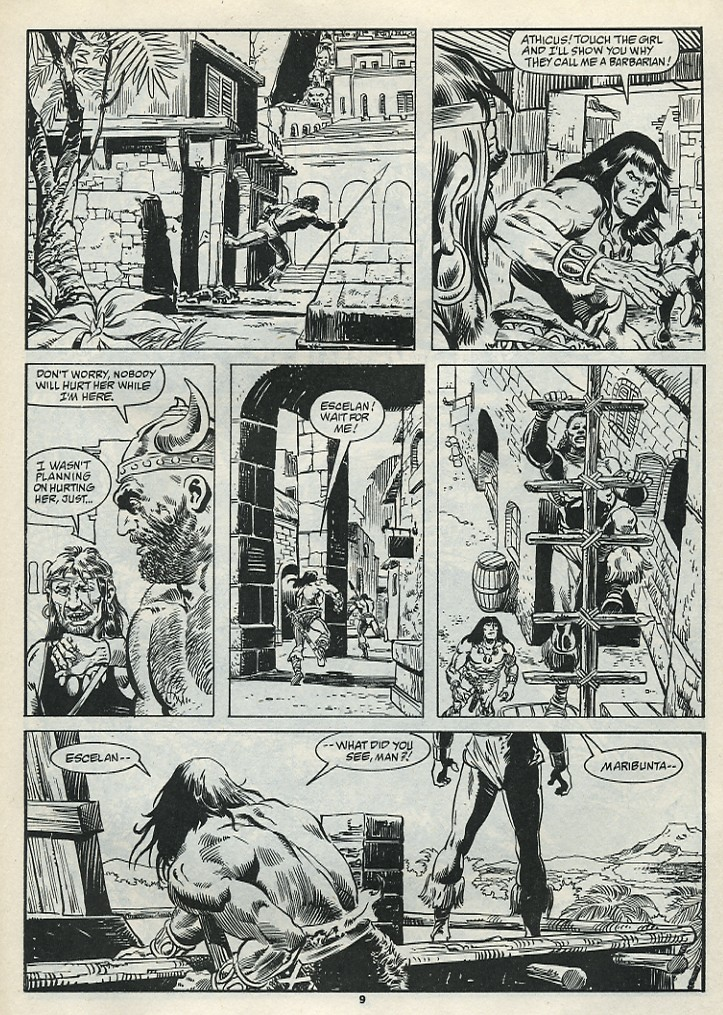 The Savage Sword Of Conan Issue #182 #183 - English 11