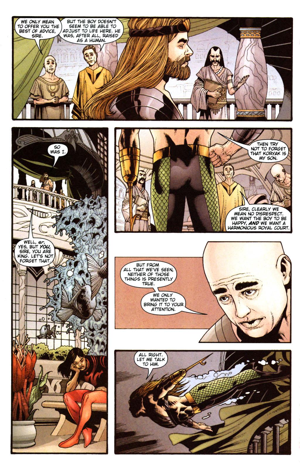 Read online Aquaman (2003) comic -  Issue #38 - 10