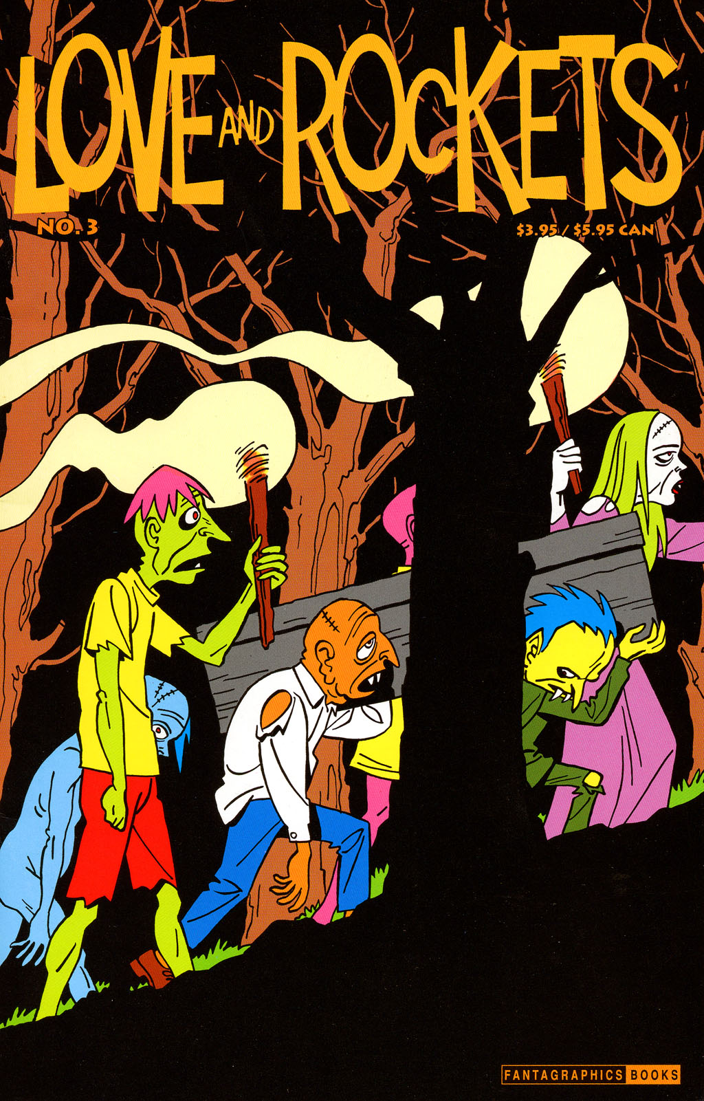 Read online Love and Rockets (2001) comic -  Issue #3 - 1