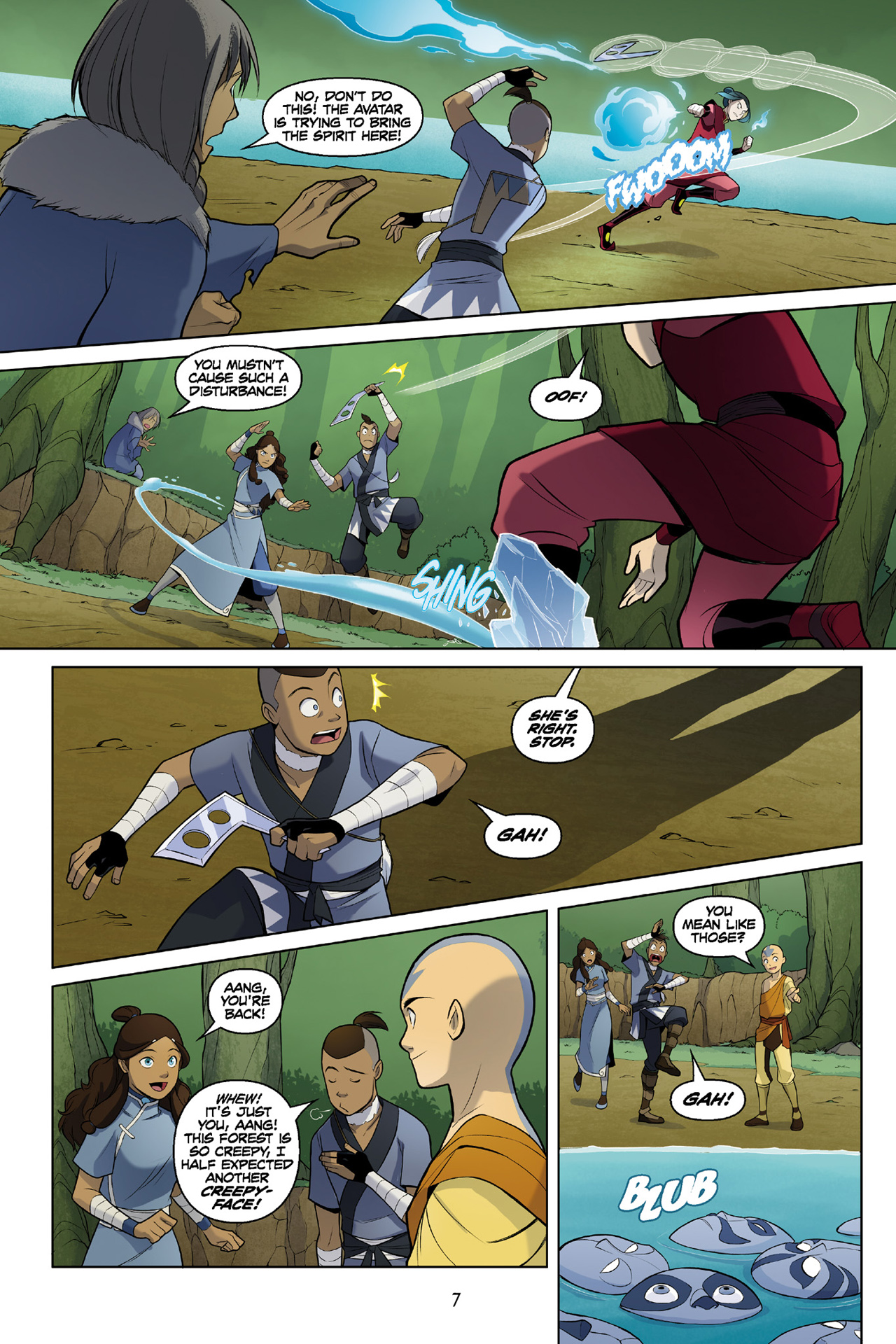 Read online Nickelodeon Avatar: The Last Airbender - The Search comic -  Issue # Part 3 - 8