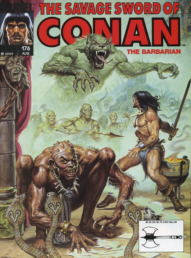 The Savage Sword Of Conan Issue #176 #177 - English 1