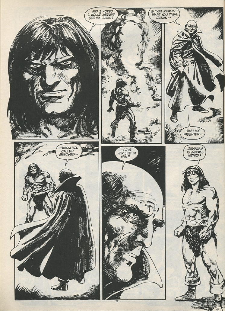The Savage Sword Of Conan Issue #189 #190 - English 24