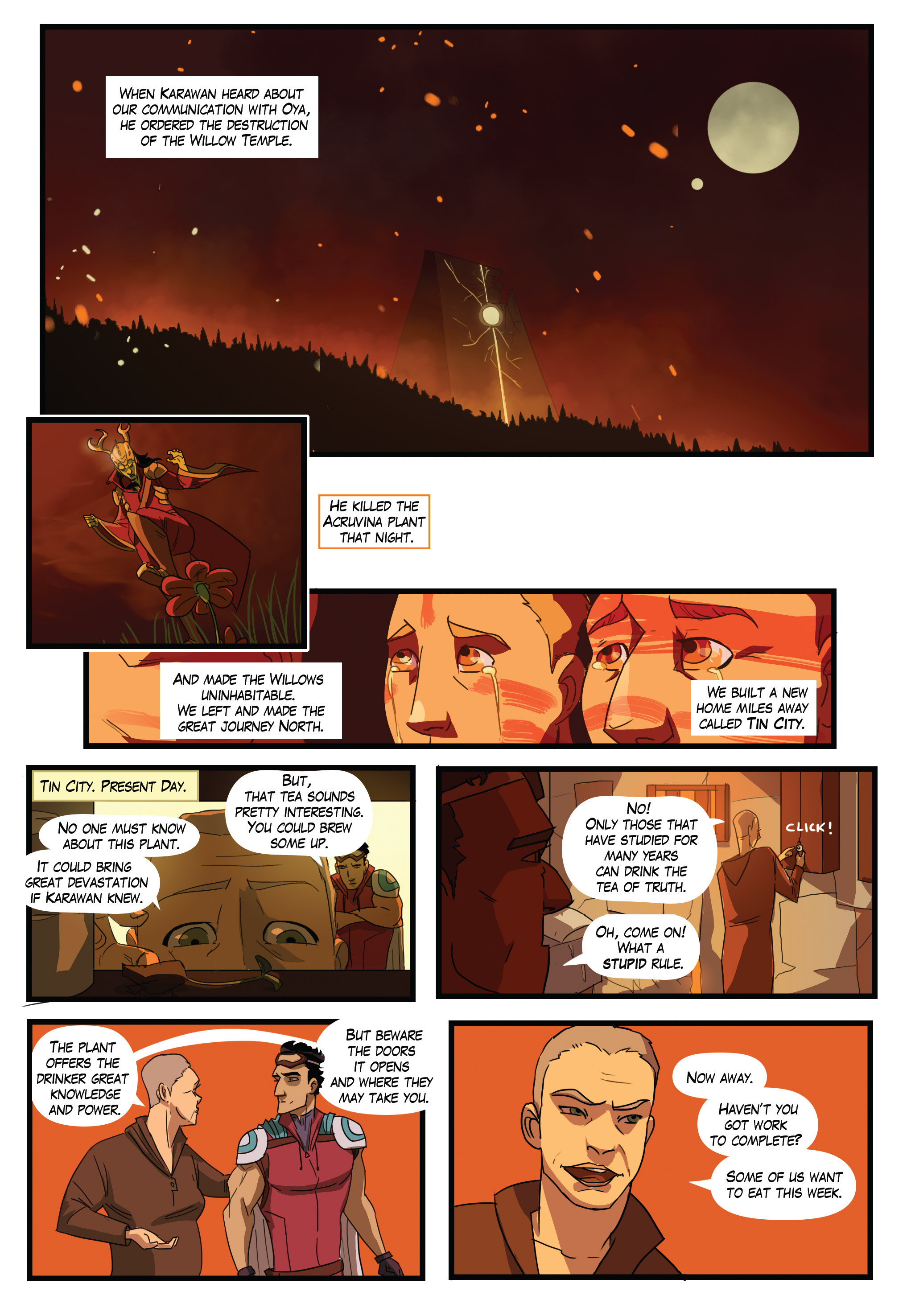 Read online Scavenger comic -  Issue #1 - 14