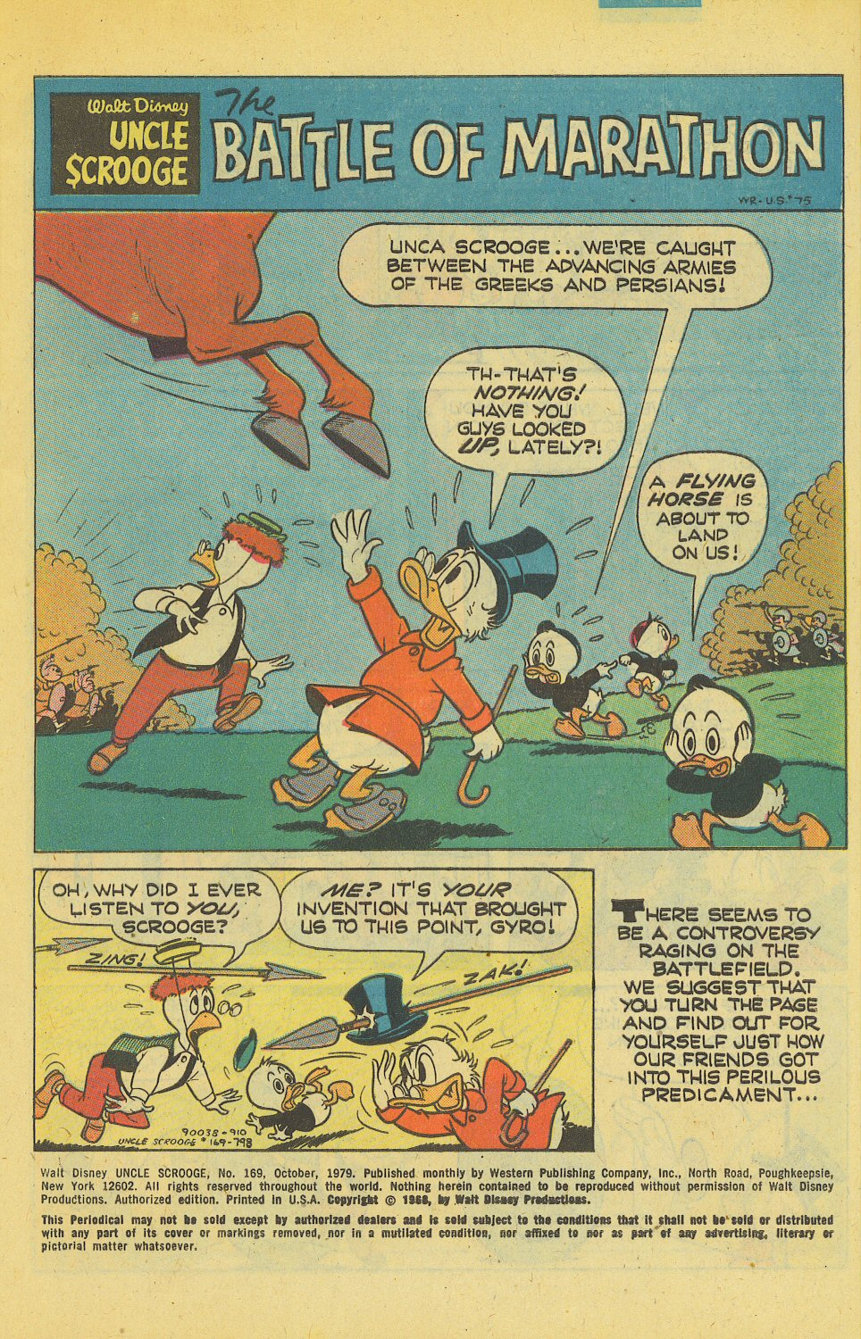 Uncle Scrooge (1953) Issue #169 #169 - English 3