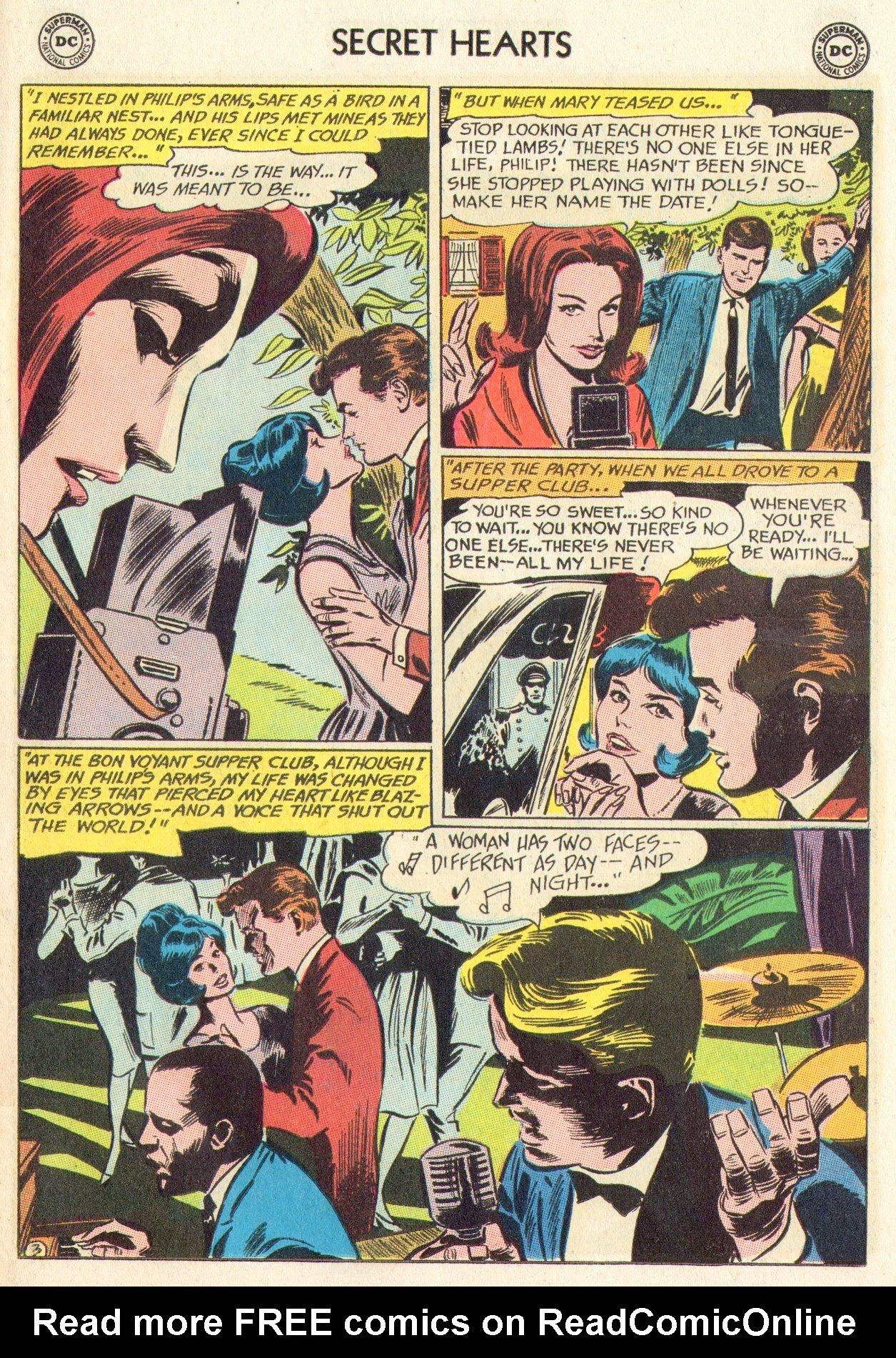 Read online Secret Hearts comic -  Issue #104 - 23