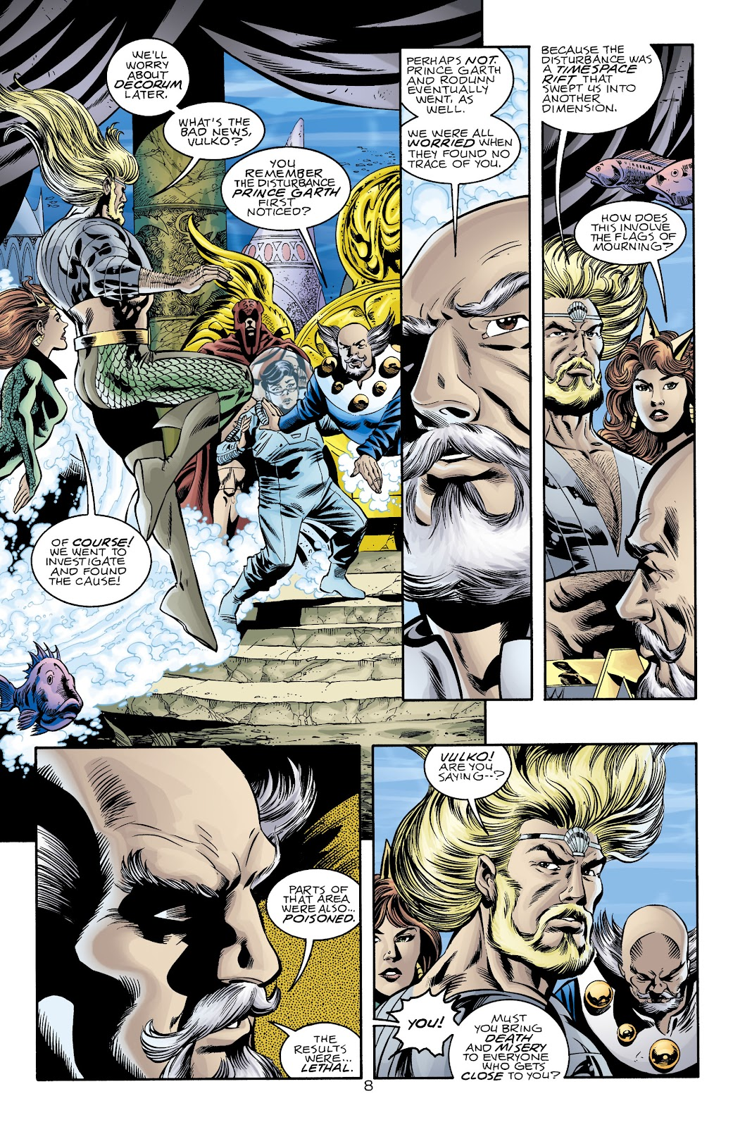 Aquaman (1994) Issue #74 #80 - English 8