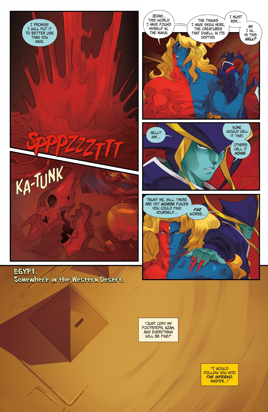 Street Fighter VS Darkstalkers Issue #0 #1 - English 8