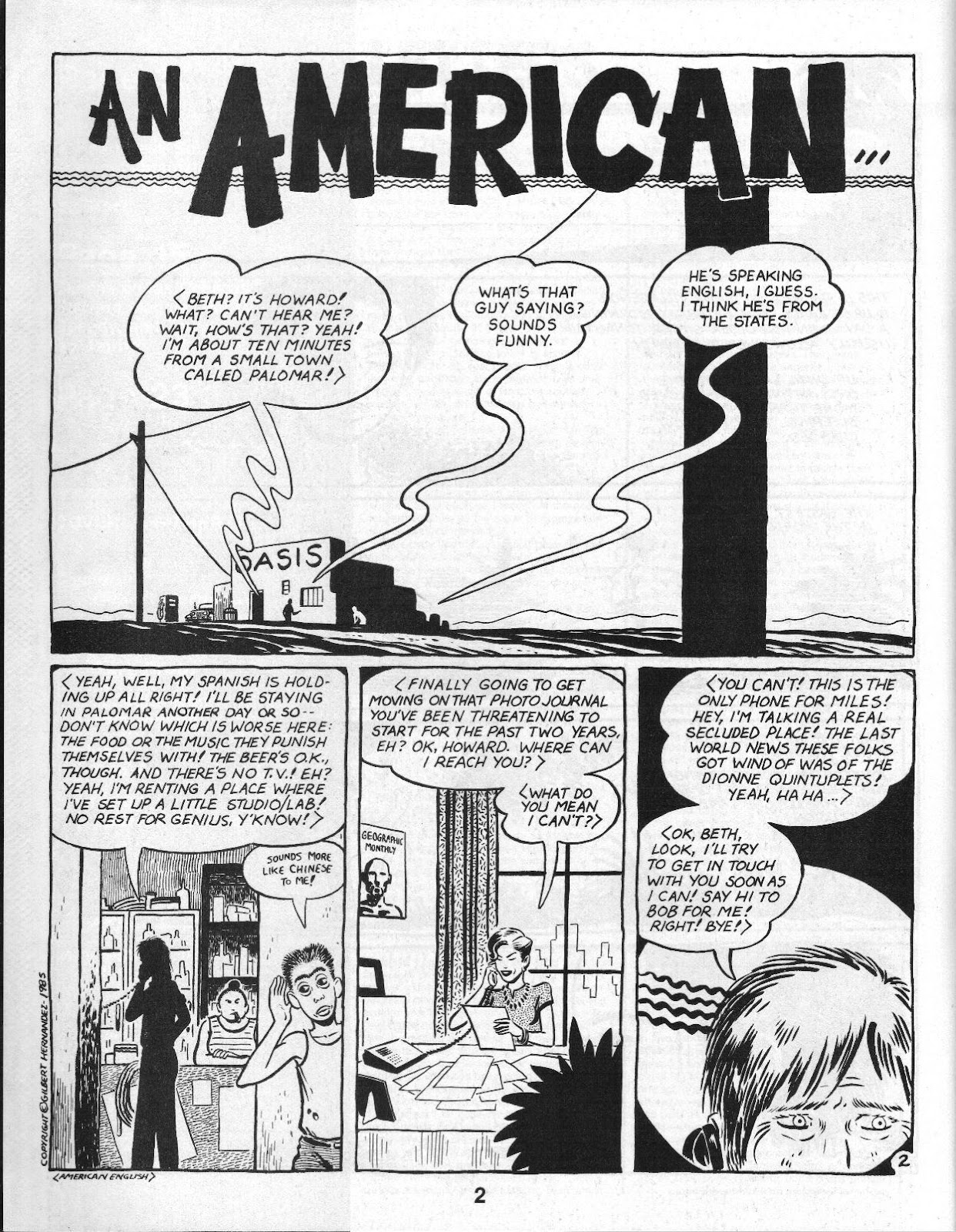 Love and Rockets (1982) Issue #14 #13 - English 4