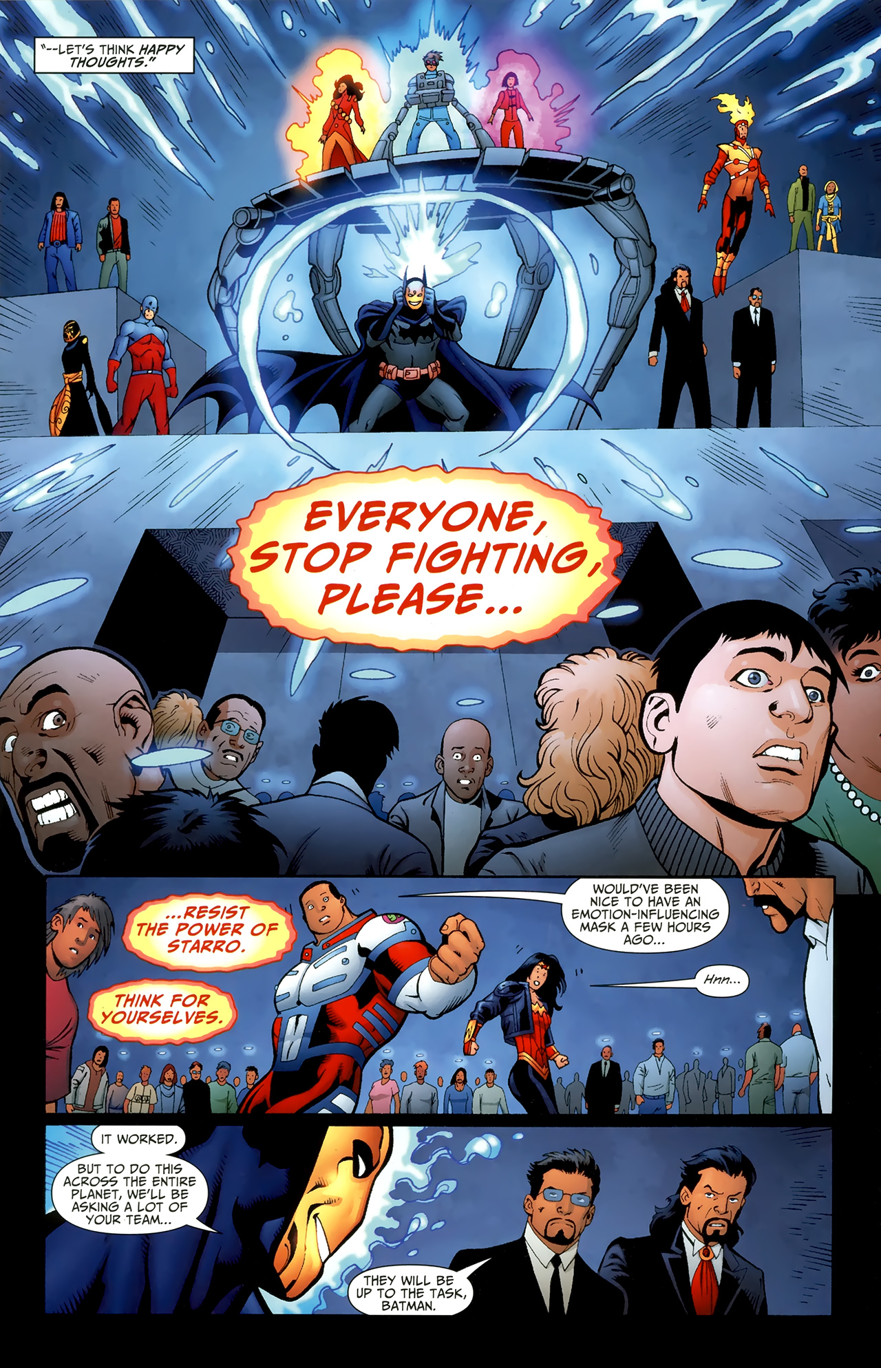 Read online Justice League of America/The 99 comic -  Issue #6 - 15