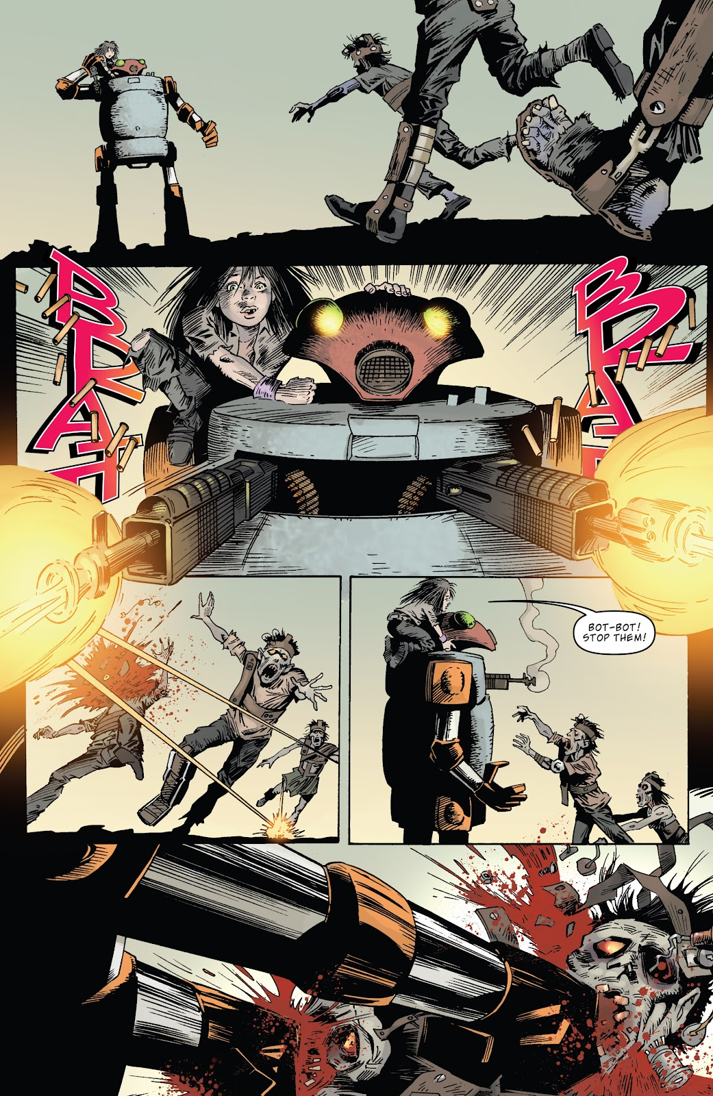 Zombies vs Robots (2015) Issue #5 Page 21