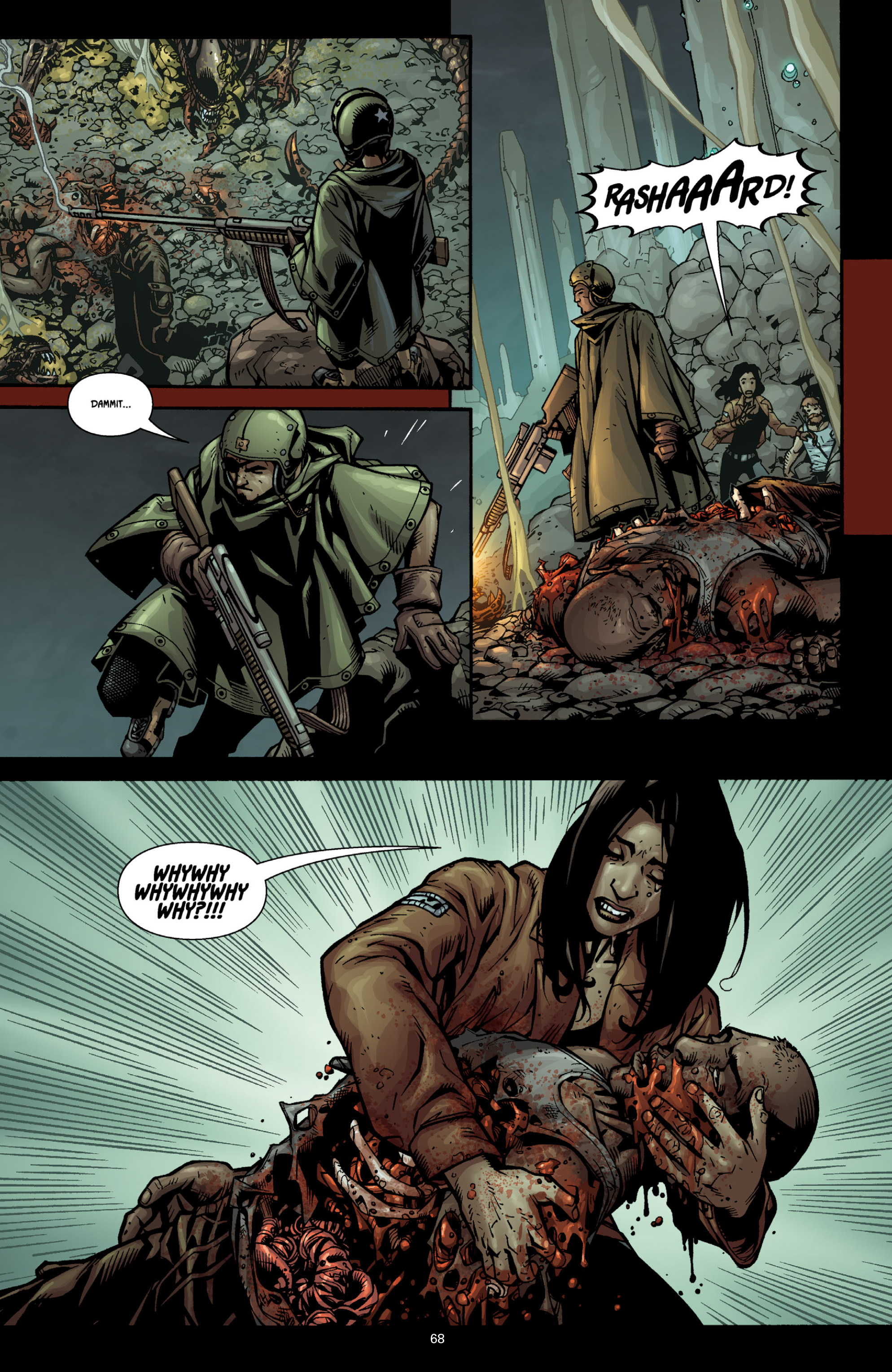 Aliens (2009) TPB Page 63