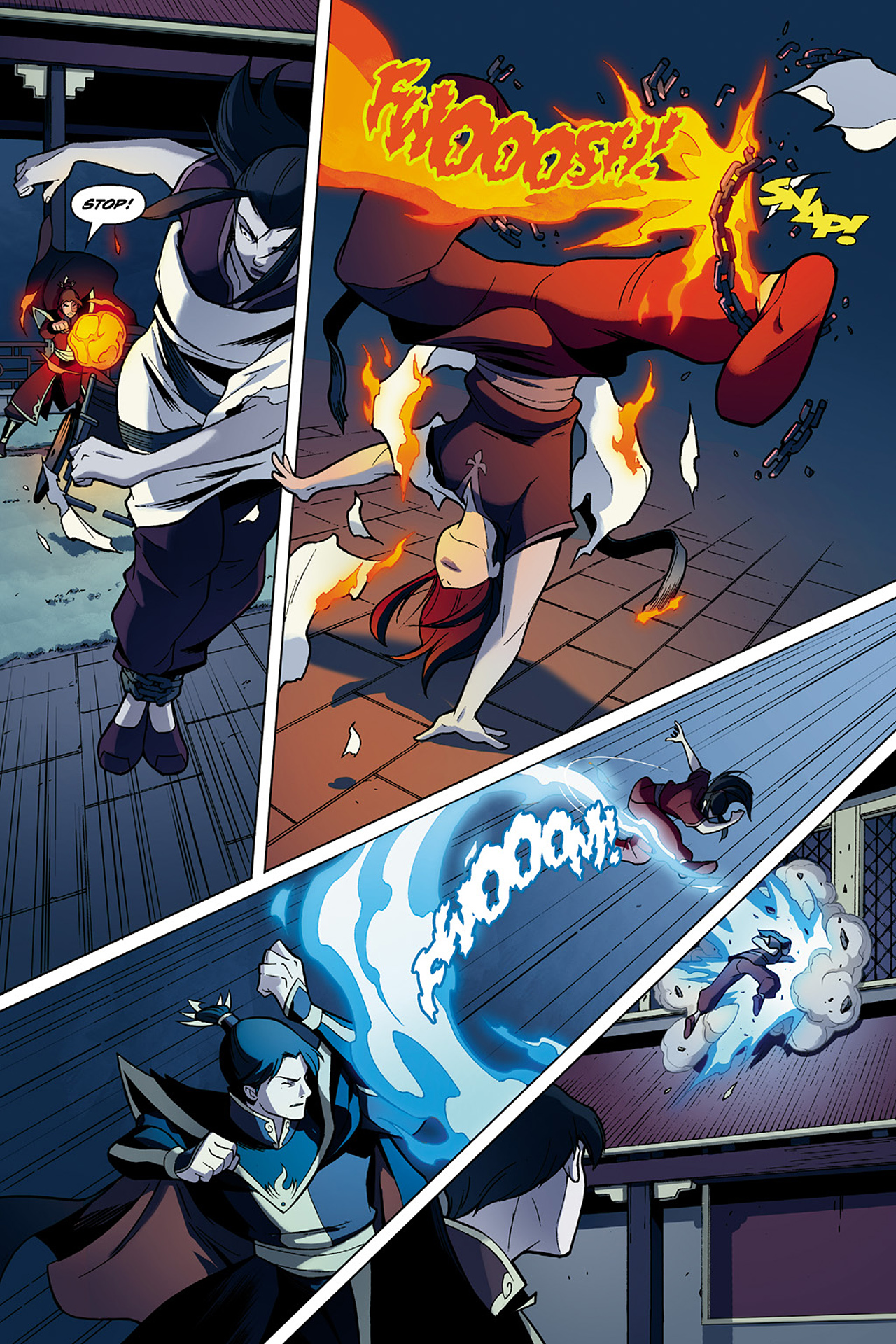 Read online Nickelodeon Avatar: The Last Airbender - The Search comic -  Issue # Part 1 - 27