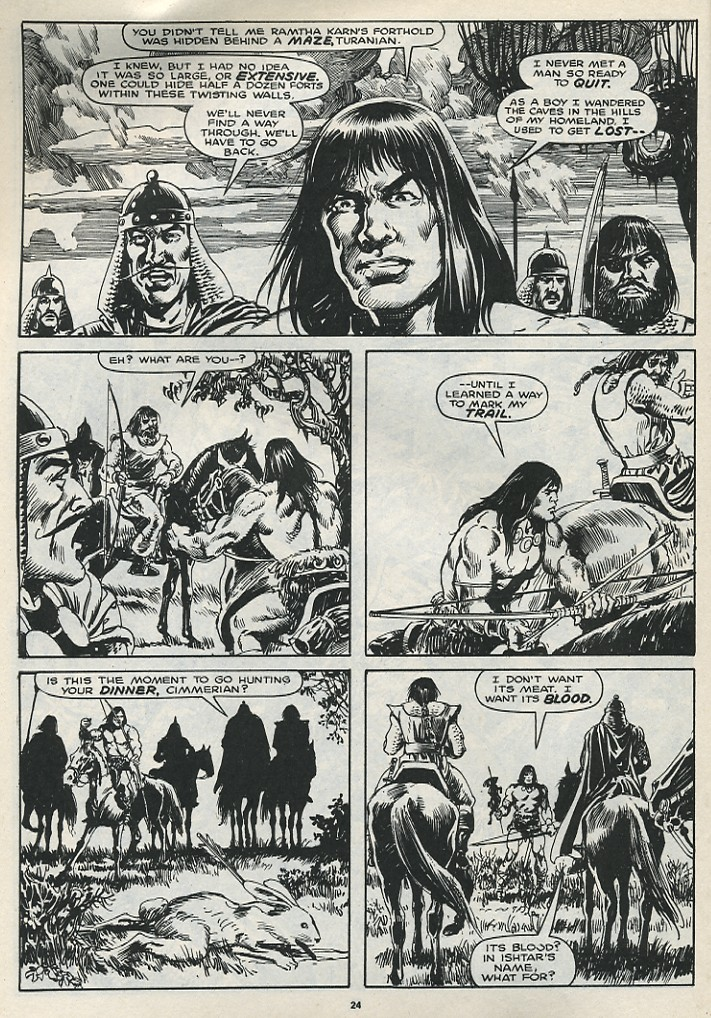 The Savage Sword Of Conan Issue #174 #175 - English 26
