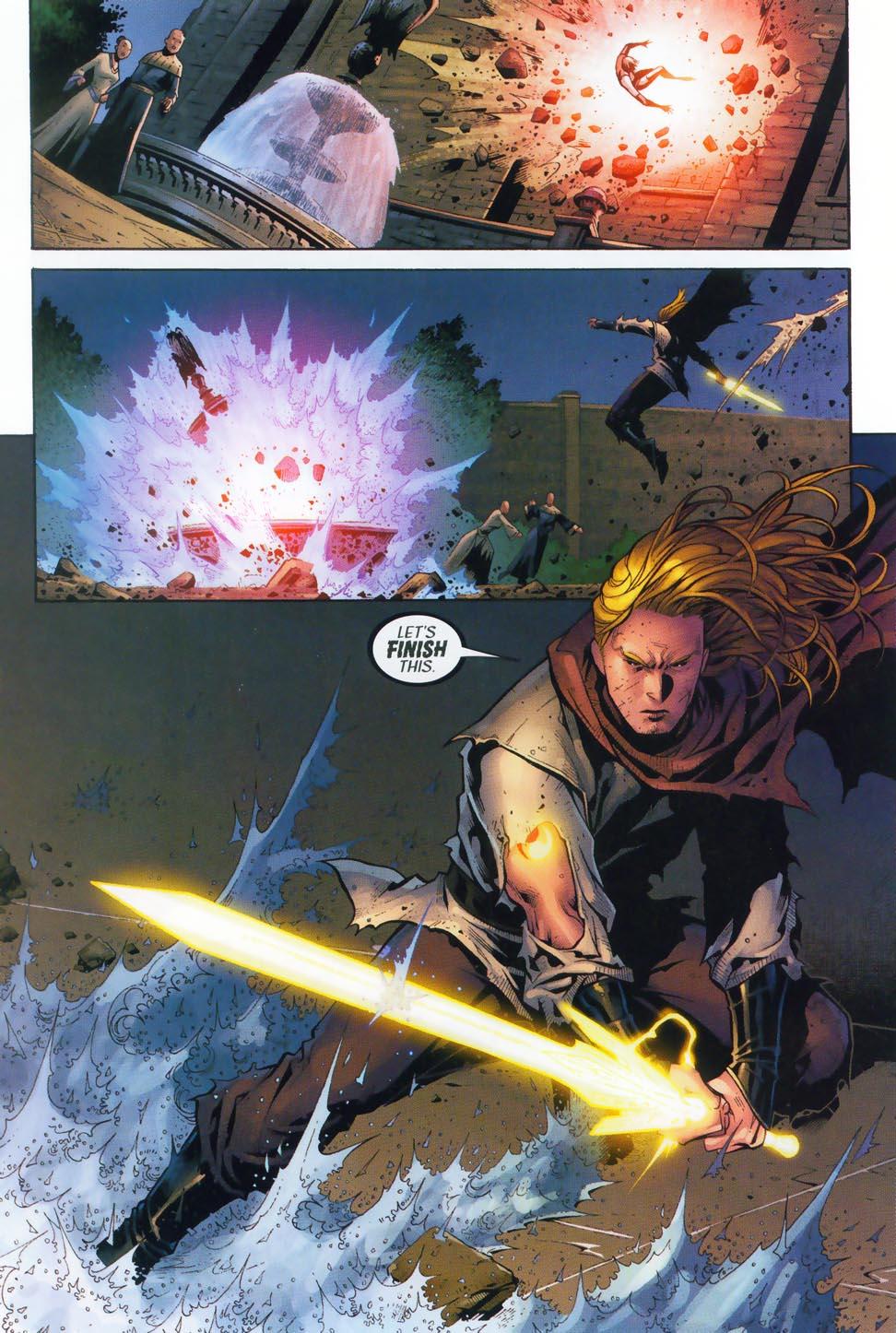 Read online Scion comic -  Issue #36 - 21