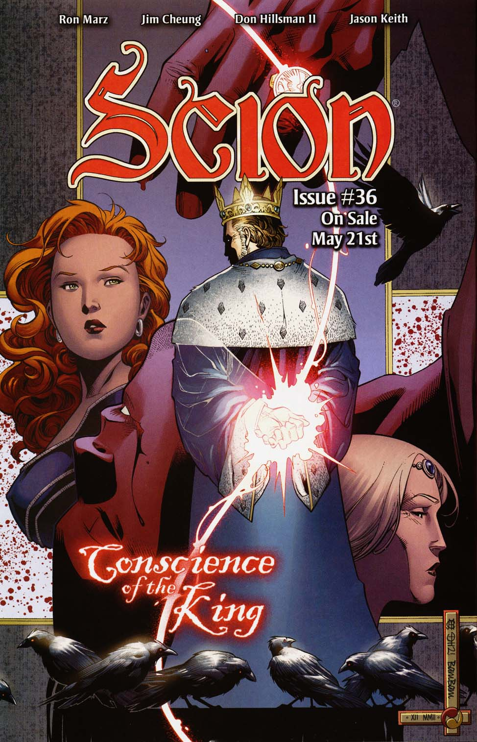 Read online Scion comic -  Issue #35 - 24