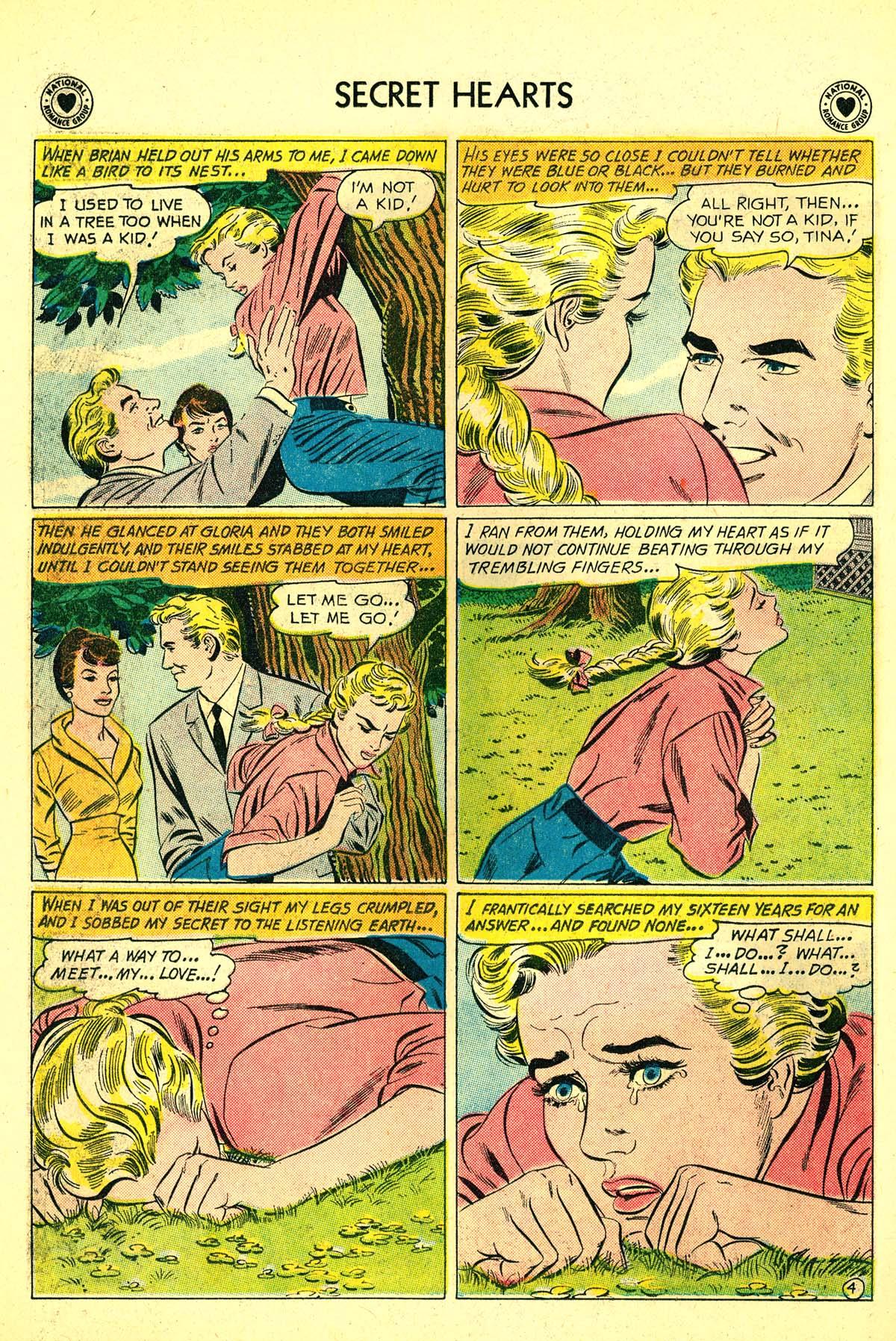 Read online Secret Hearts comic -  Issue #64 - 30