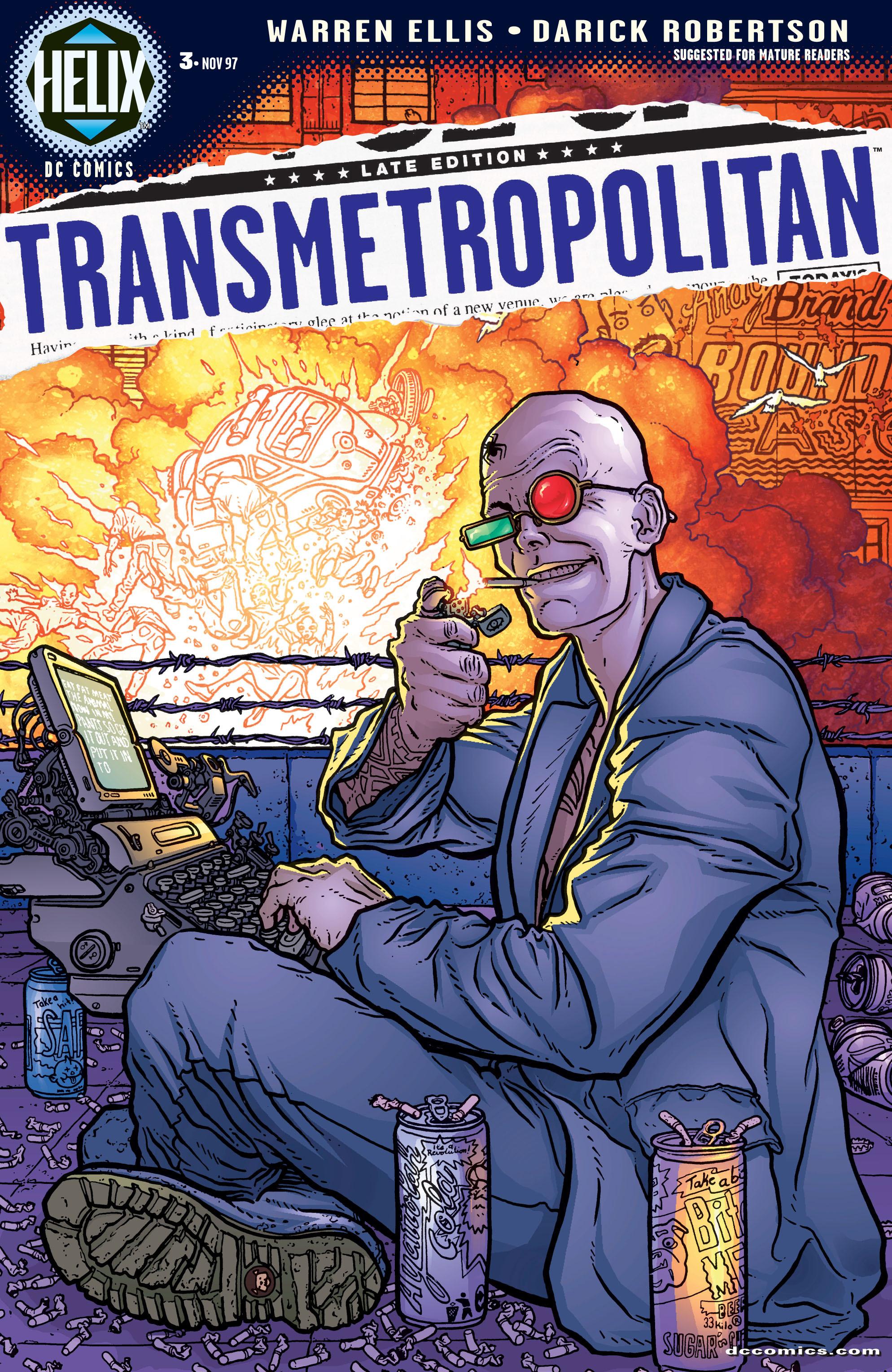 Transmetropolitan issue 3 - Page 1