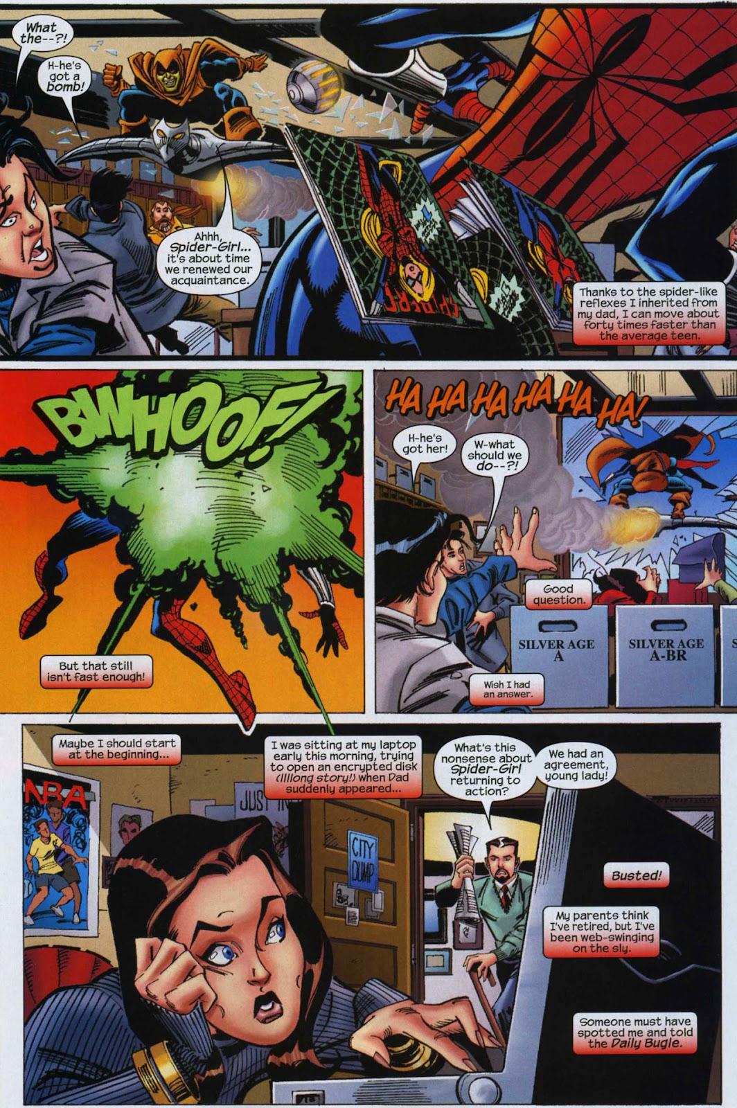 Amazing Spider-Girl Issue #6 #7 - English 4