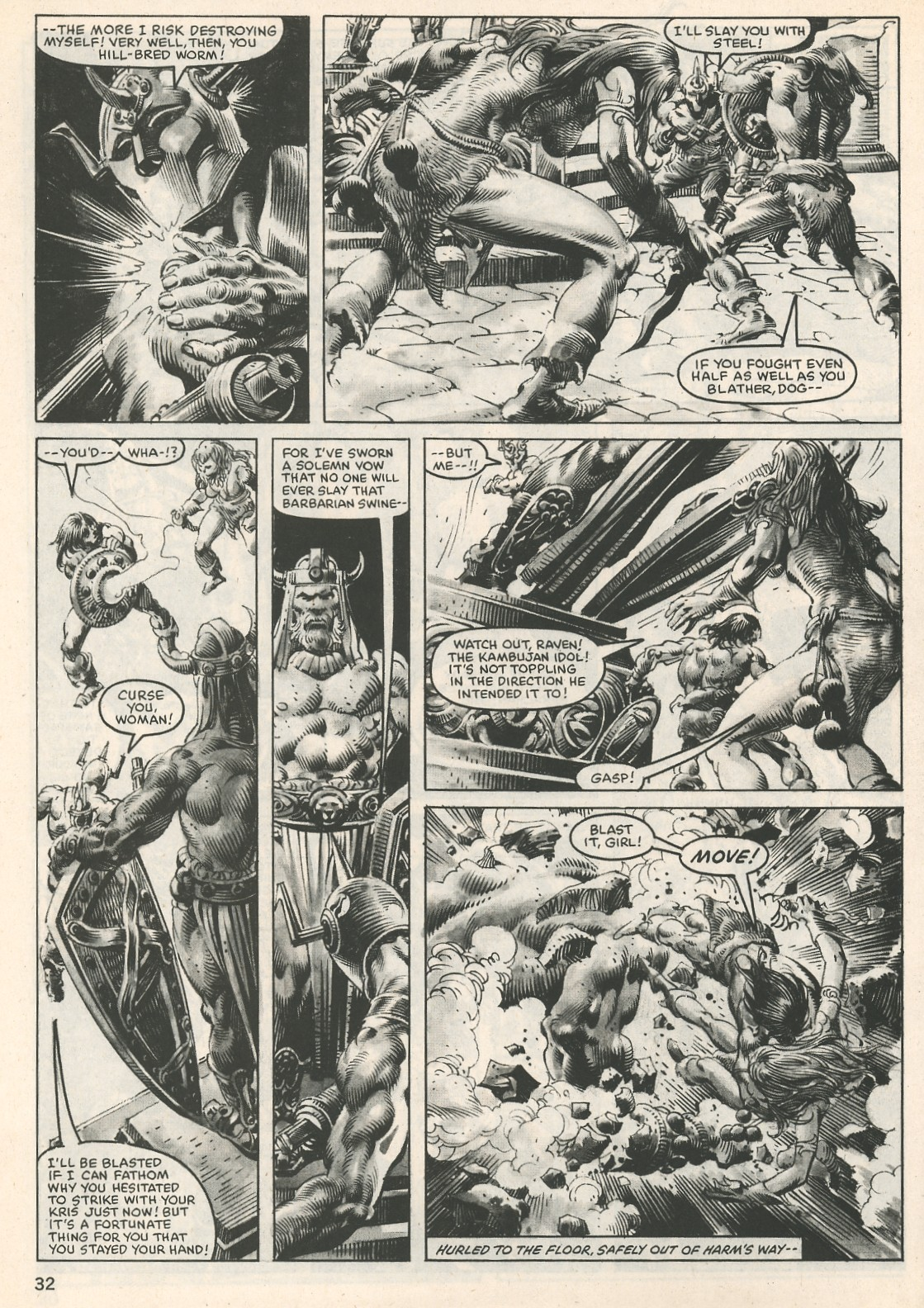 The Savage Sword Of Conan Issue #107 #108 - English 32