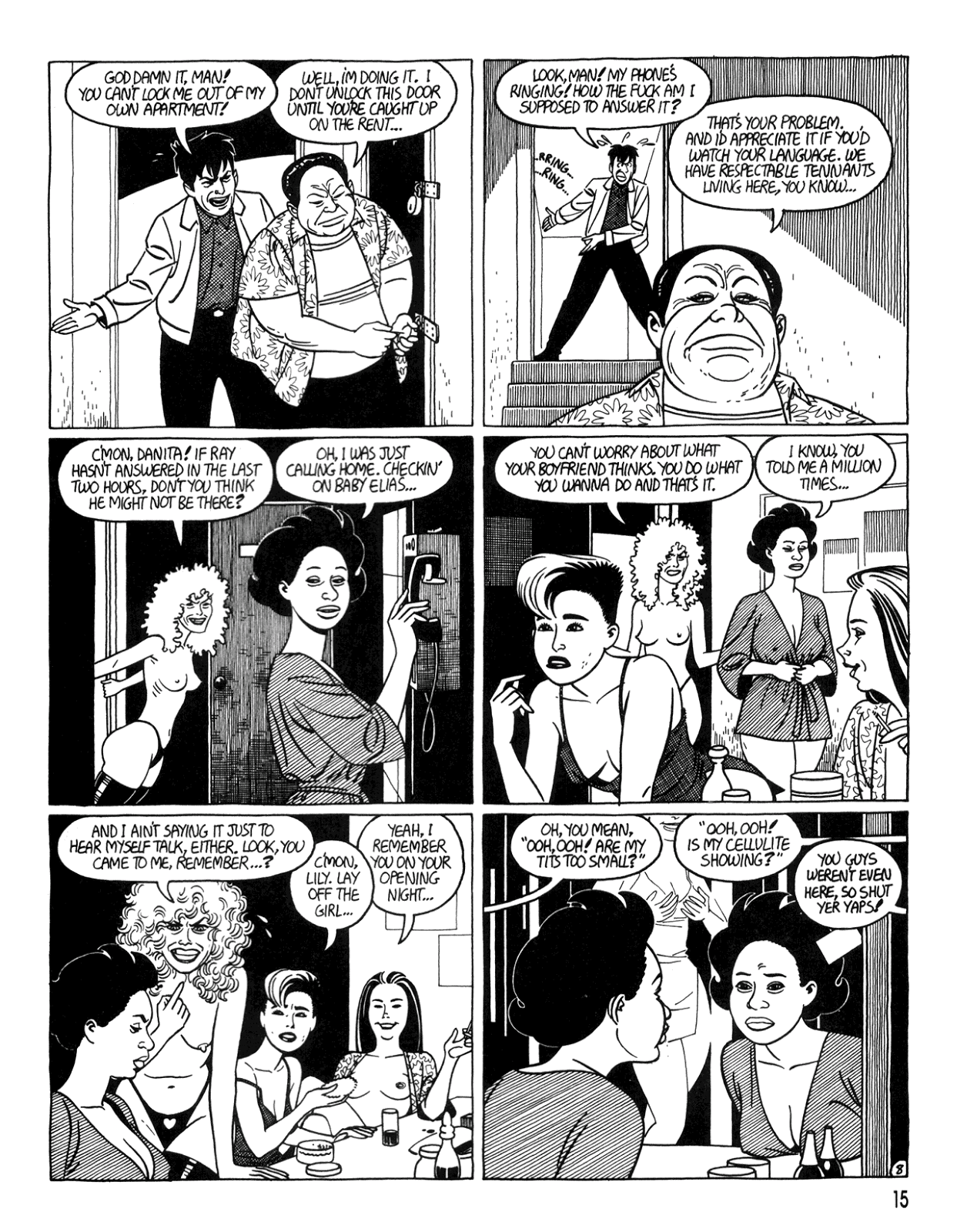 Love and Rockets (1982) Issue #34 #32 - English 17