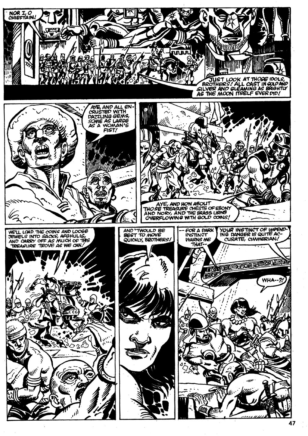 The Savage Sword Of Conan Issue #86 #87 - English 47