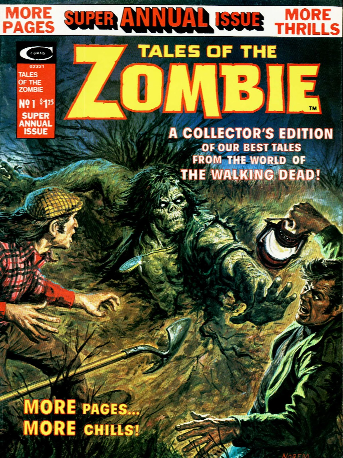 Zombie issue Annual 1 - Page 1