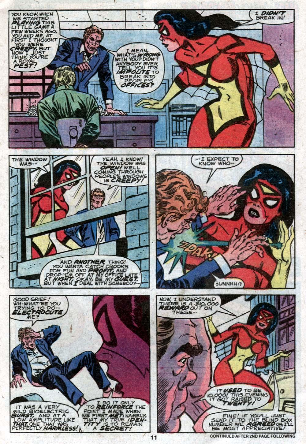Spider-Woman (1978) #21 #30 - English 9