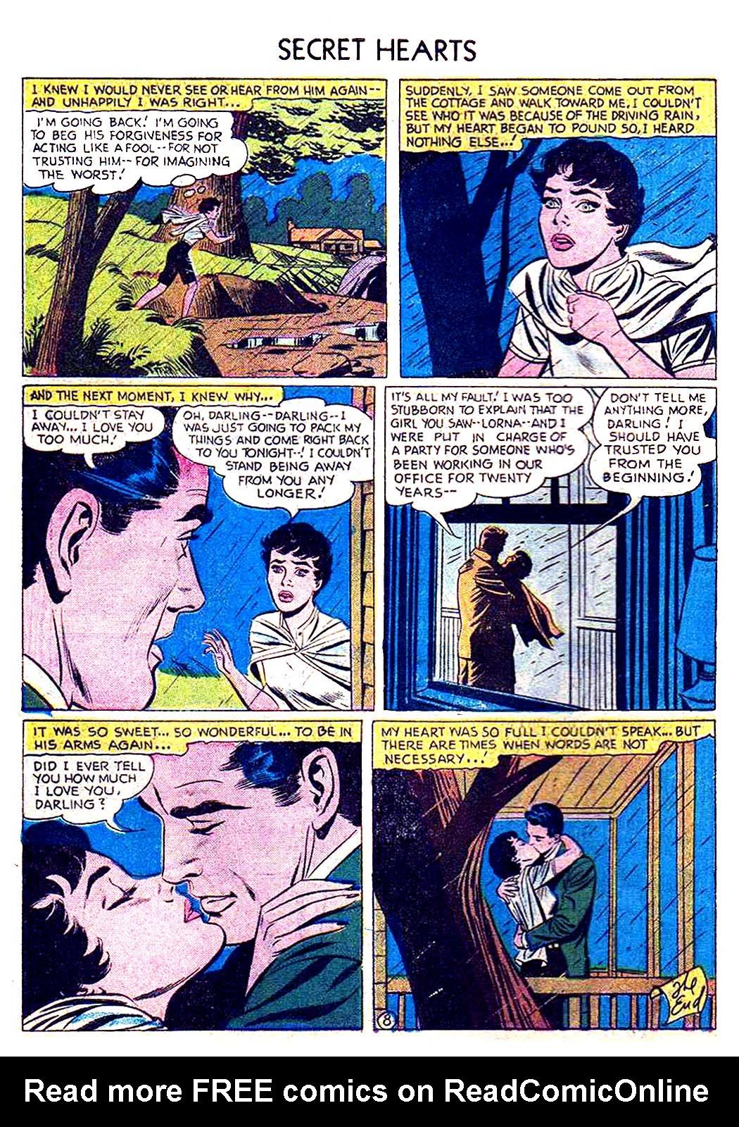 Read online Secret Hearts comic -  Issue #41 - 34