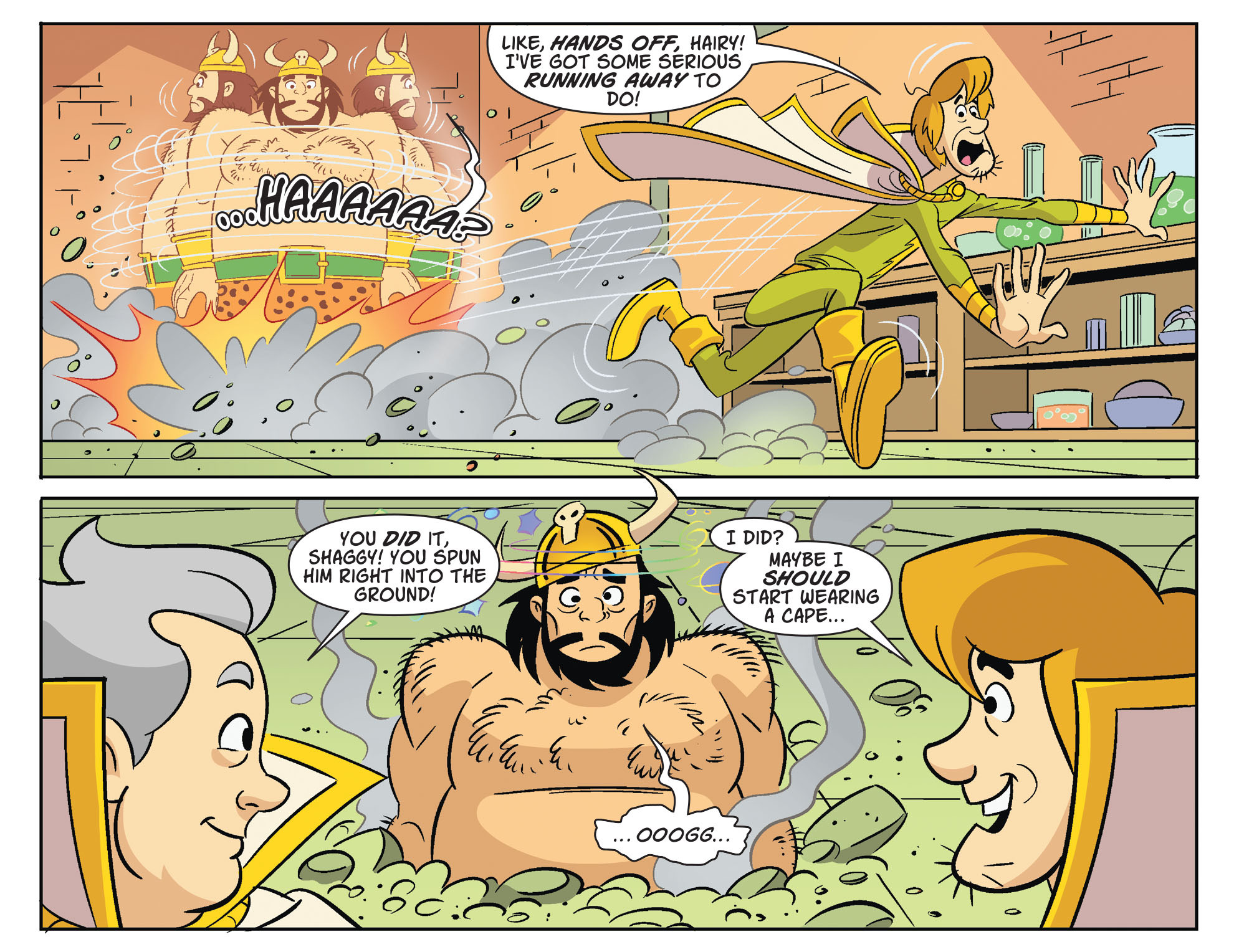 Read online Scooby-Doo! Team-Up comic -  Issue #32 - 15