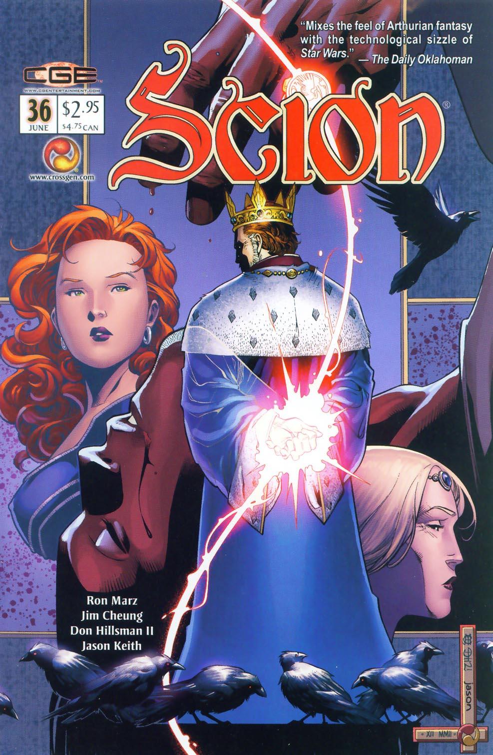 Read online Scion comic -  Issue #36 - 3