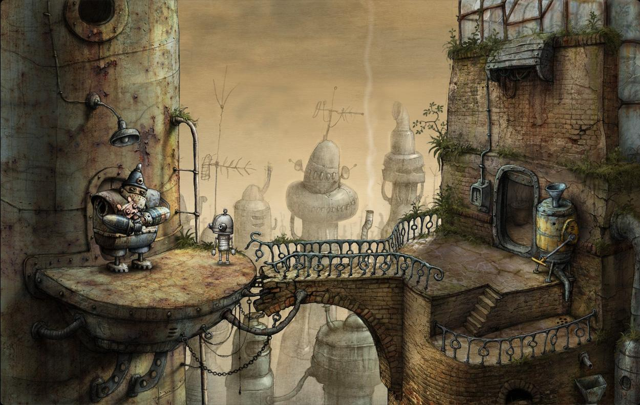 Descargar Machinarium v1.6.13 apk Android Full Gratis (Gratis)