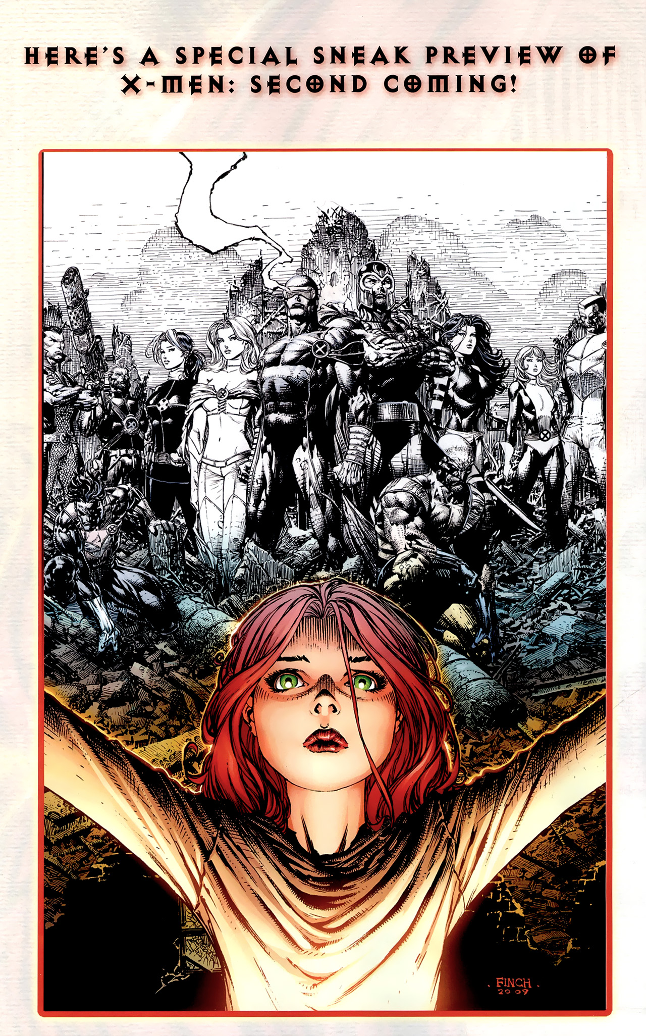 Read online Second Coming: Prepare comic -  Issue # Full - 10