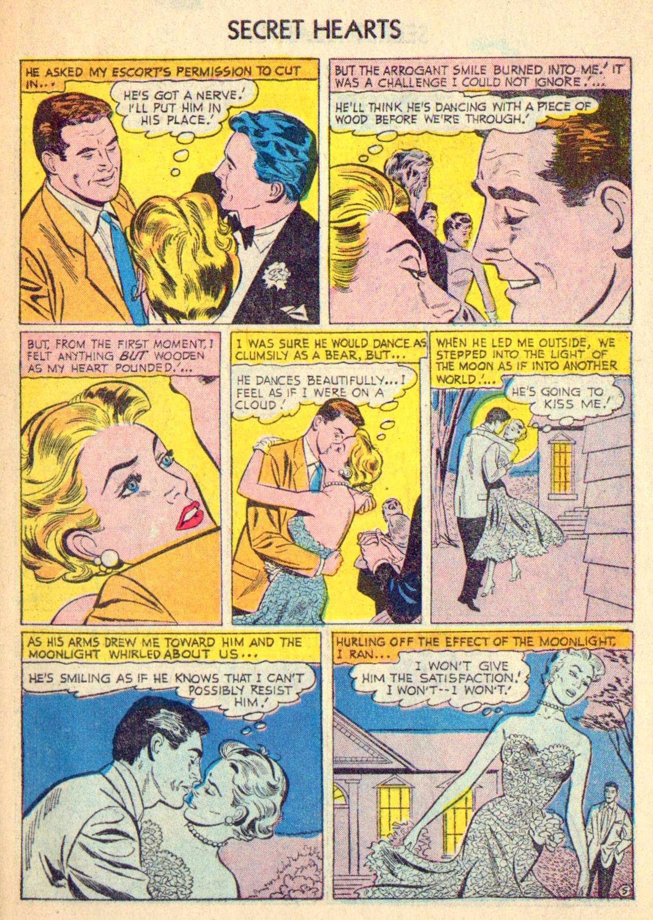 Read online Secret Hearts comic -  Issue #31 - 31