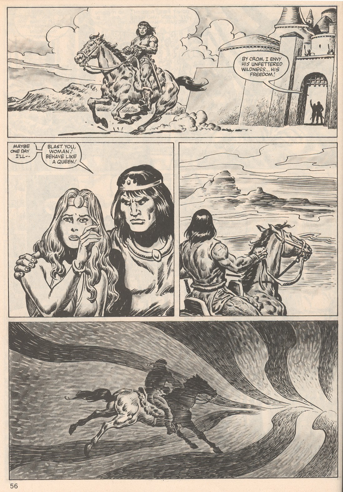 The Savage Sword Of Conan Issue #104 #105 - English 56