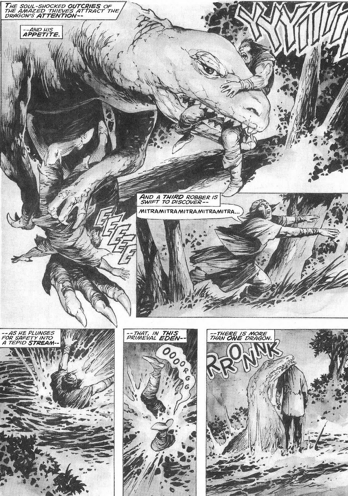 The Savage Sword Of Conan Issue #207 #208 - English 48