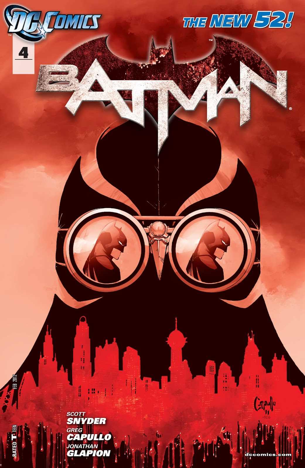 Batman (2011) Issue #4 #19 - English 24