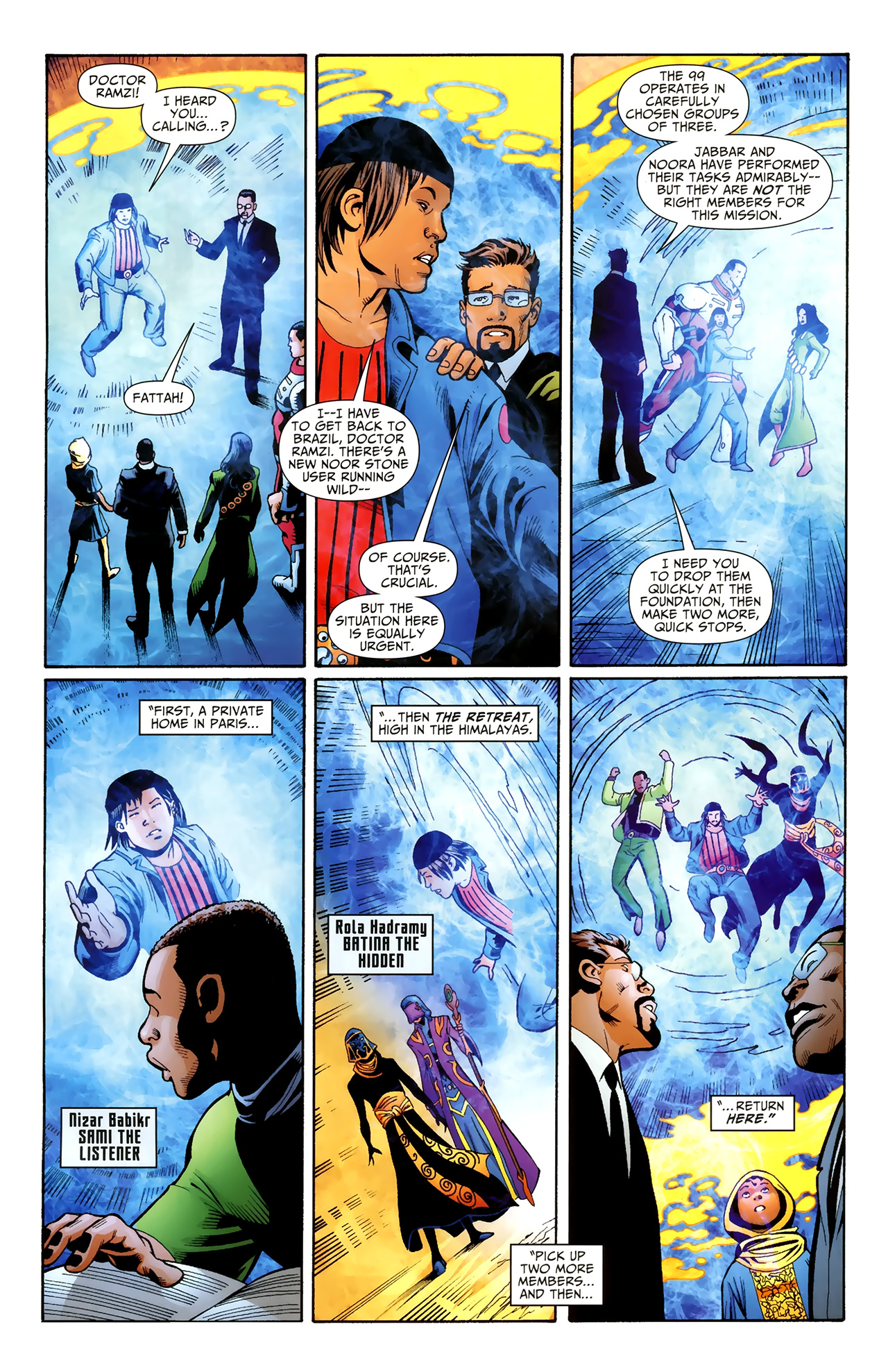 Read online Justice League of America/The 99 comic -  Issue #3 - 15