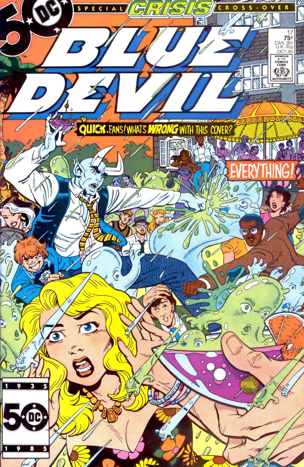 Blue Devil 17 Page 1