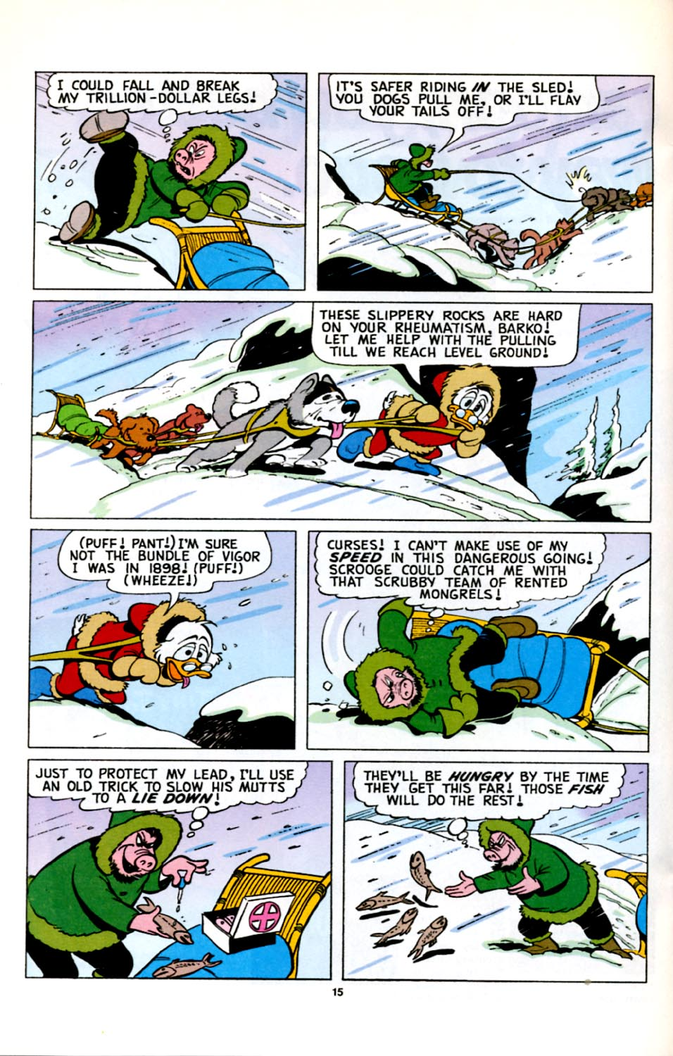 Uncle Scrooge (1953) Issue #278 #278 - English 16