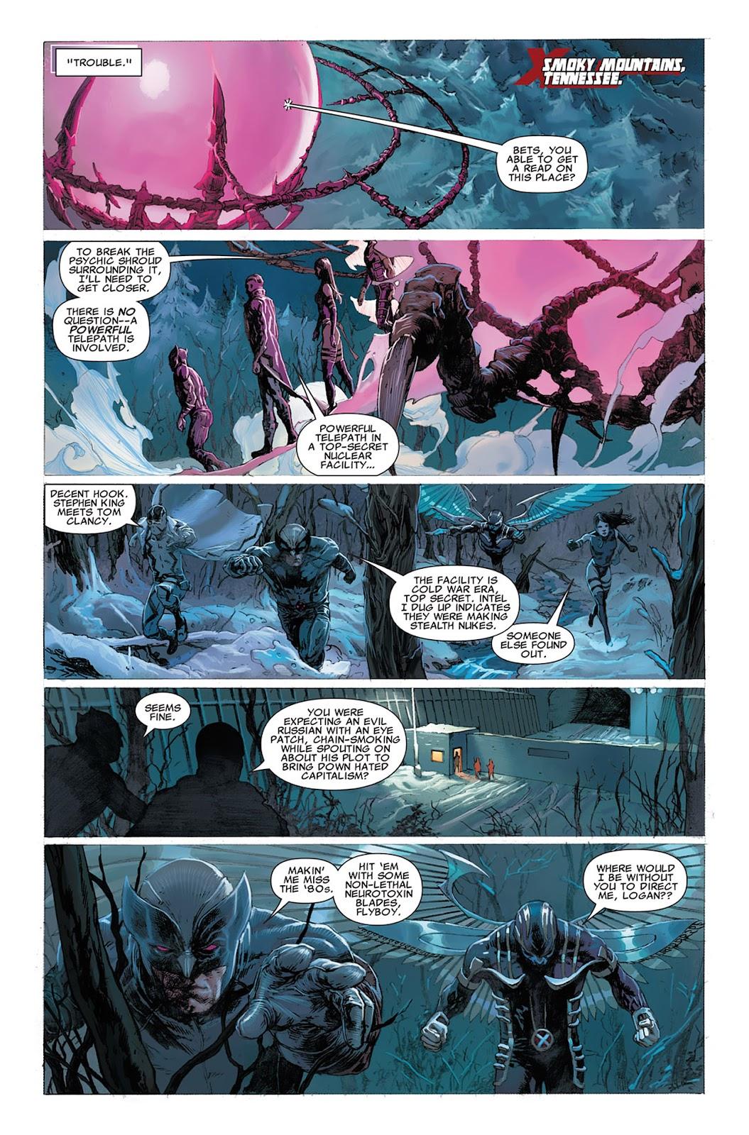 Uncanny X-Force (2010) Issue #8 #9 - English 9