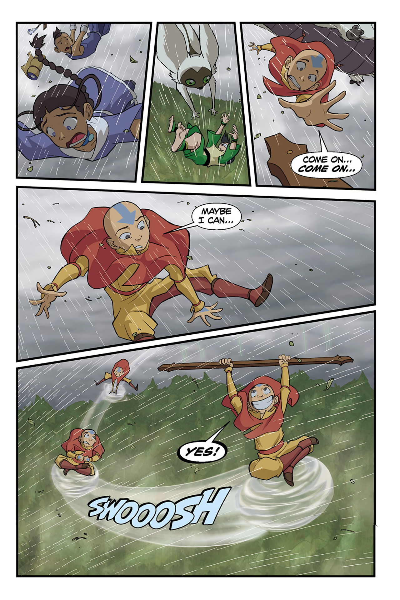 Nickelodeon Avatar: The Last Airbender - The Lost Adventures chap full pic 61